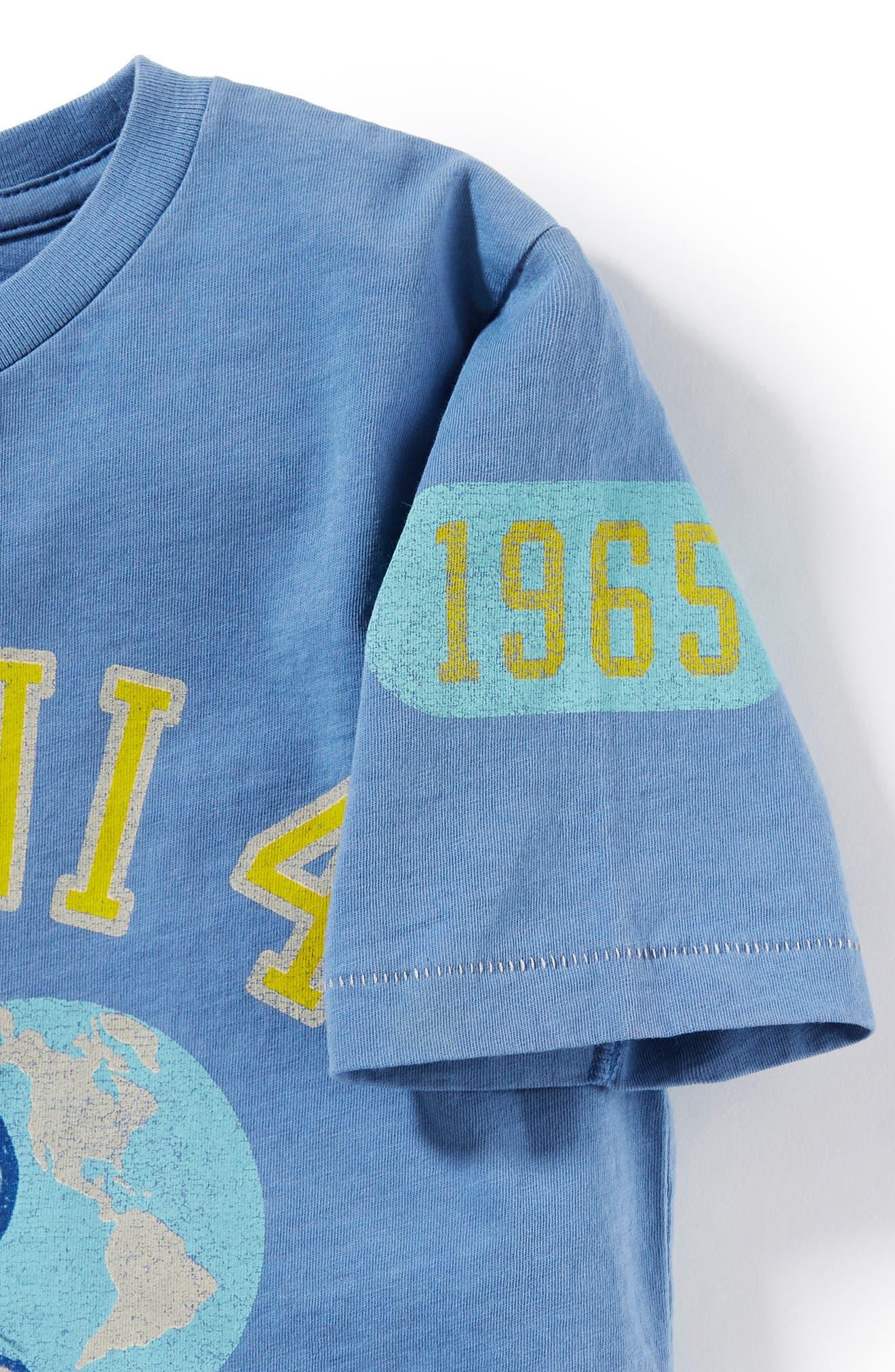 Gemini 4 Graphic T-Shirt,                             Alternate thumbnail 2, color,                             Light Blue