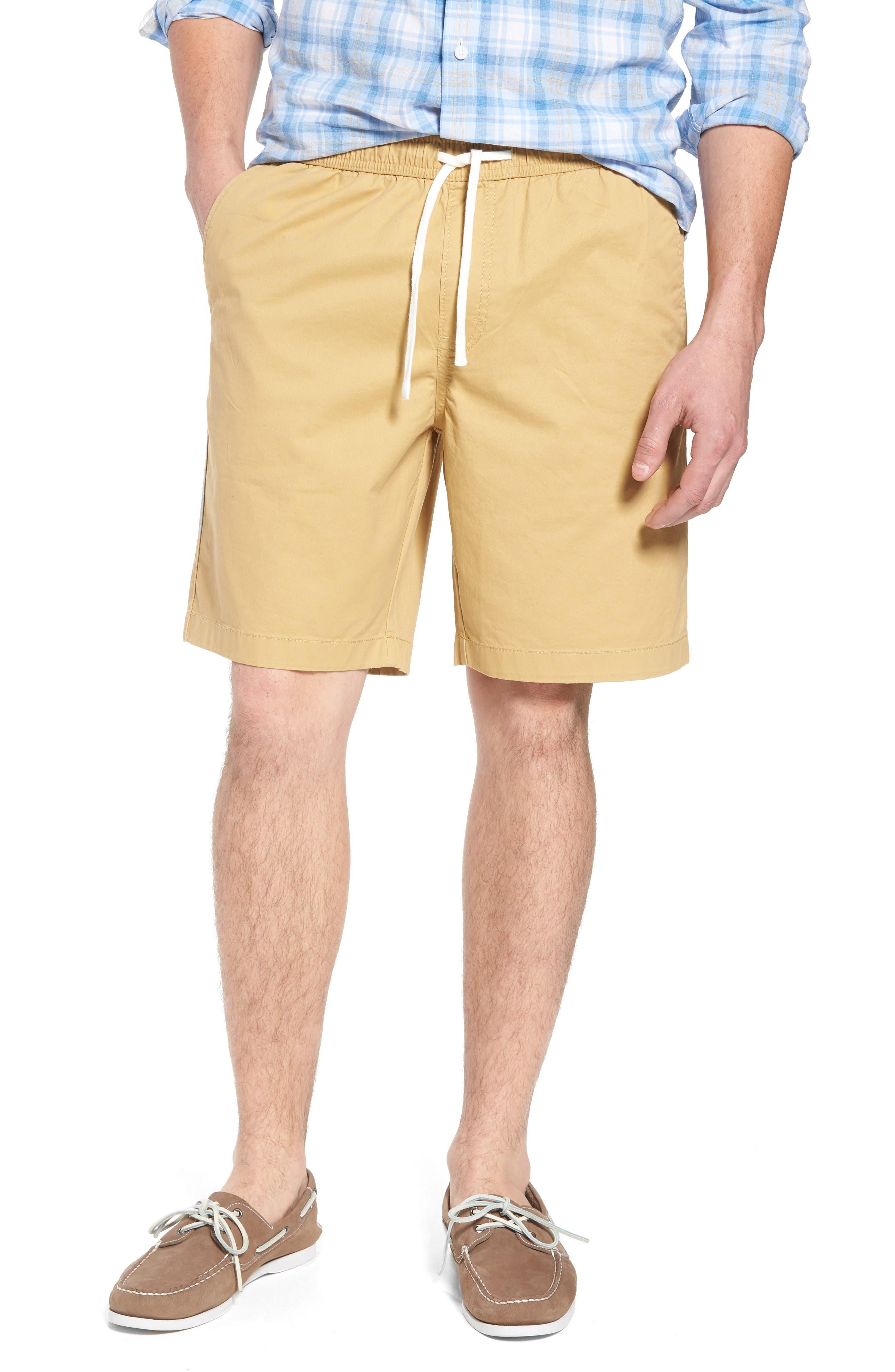 Ballard Slim Fit Shorts,                             Main thumbnail 1, color,                             Tan Lark