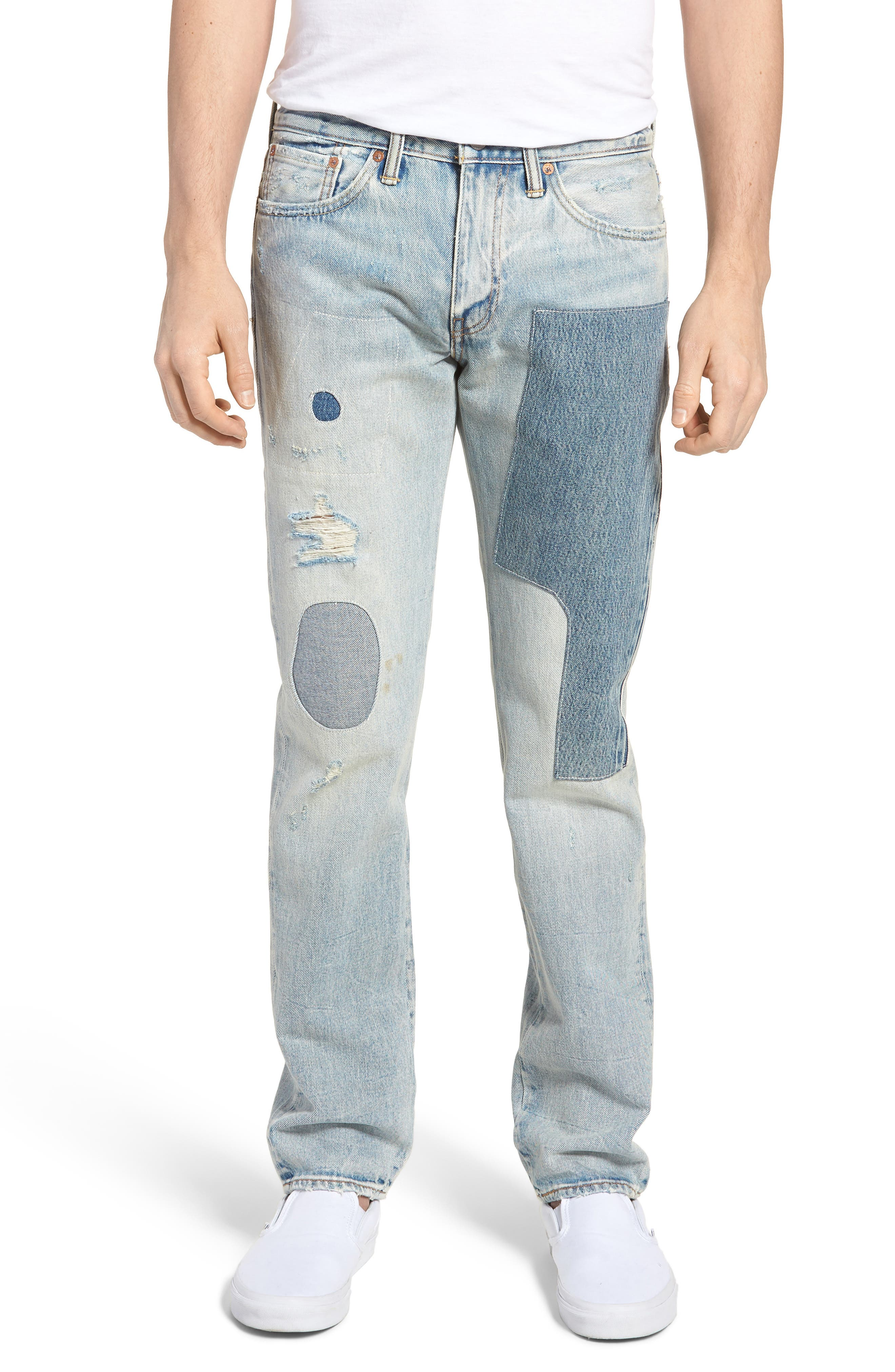 511<sup>™</sup> Slim Fit Jeans,                         Main,                         color, Patch Up