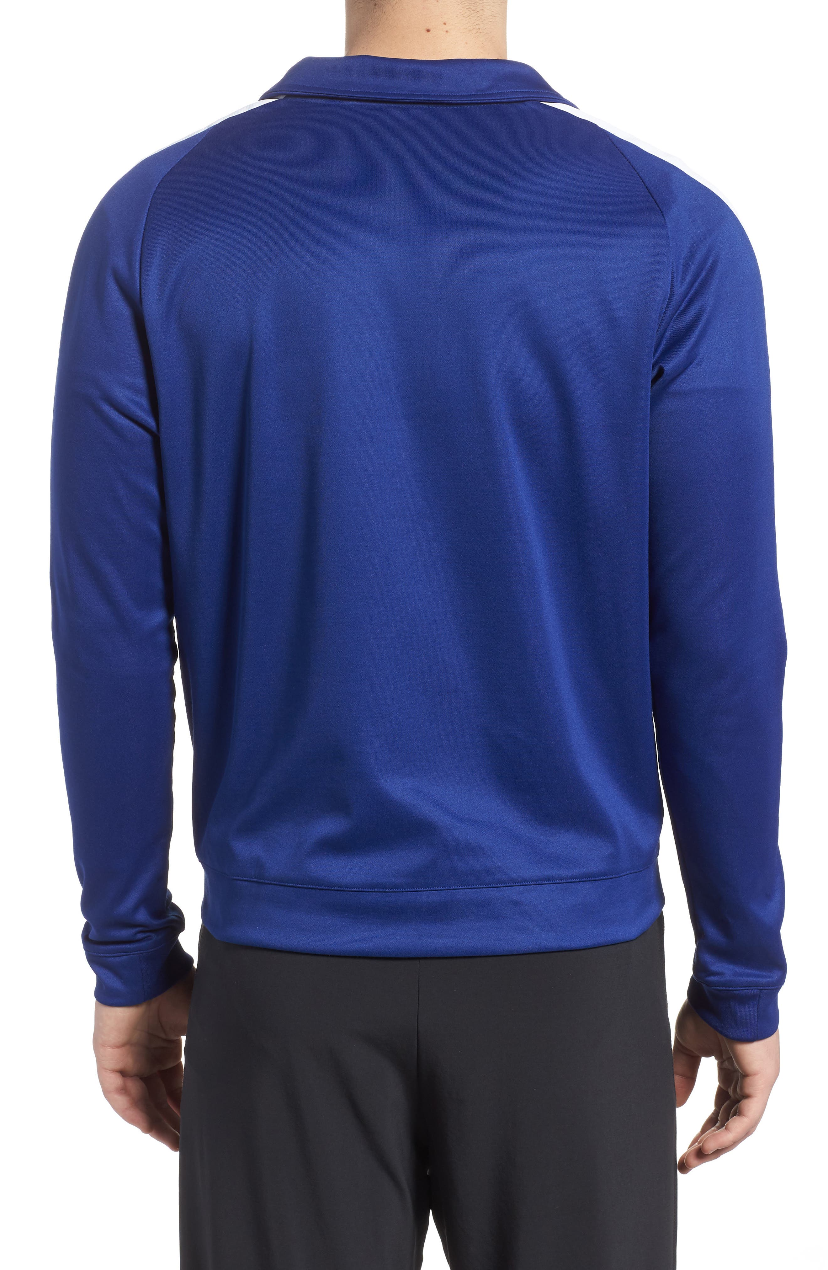 Sportswear Zip Track Jacket,                             Alternate thumbnail 2, color,                             Deep Royal Blue/ White/ Black