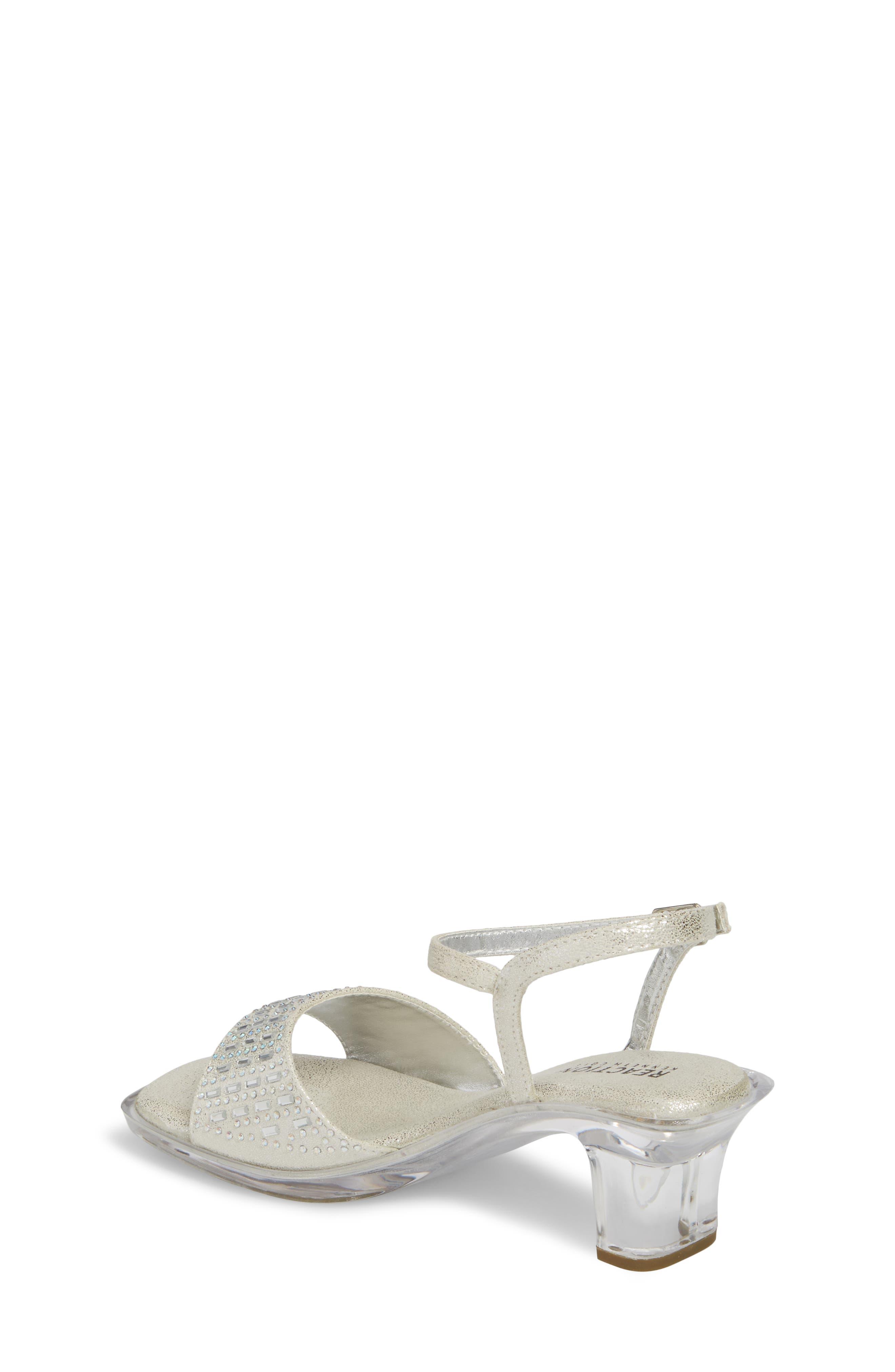Cind-R-Ella Embellished Sandal,                             Alternate thumbnail 2, color,                             Silver