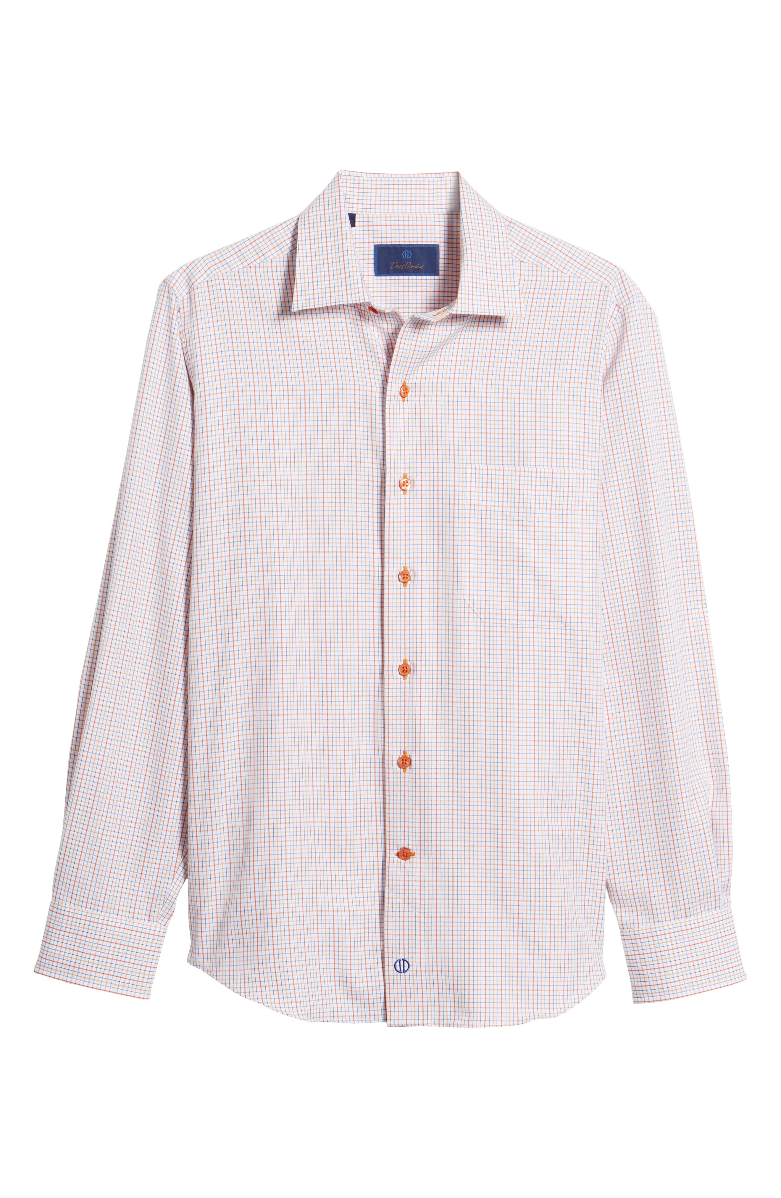 Sport Shirt,                             Alternate thumbnail 6, color,                             Melon
