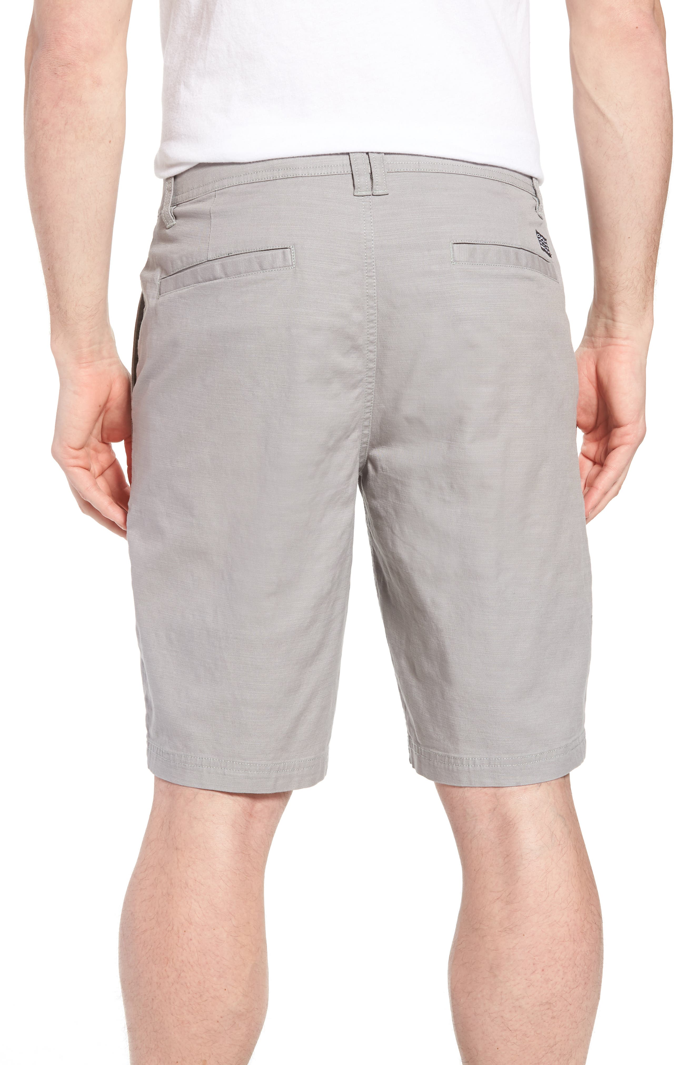 Jay Stretch Chino Shorts,                             Alternate thumbnail 2, color,                             Light Grey