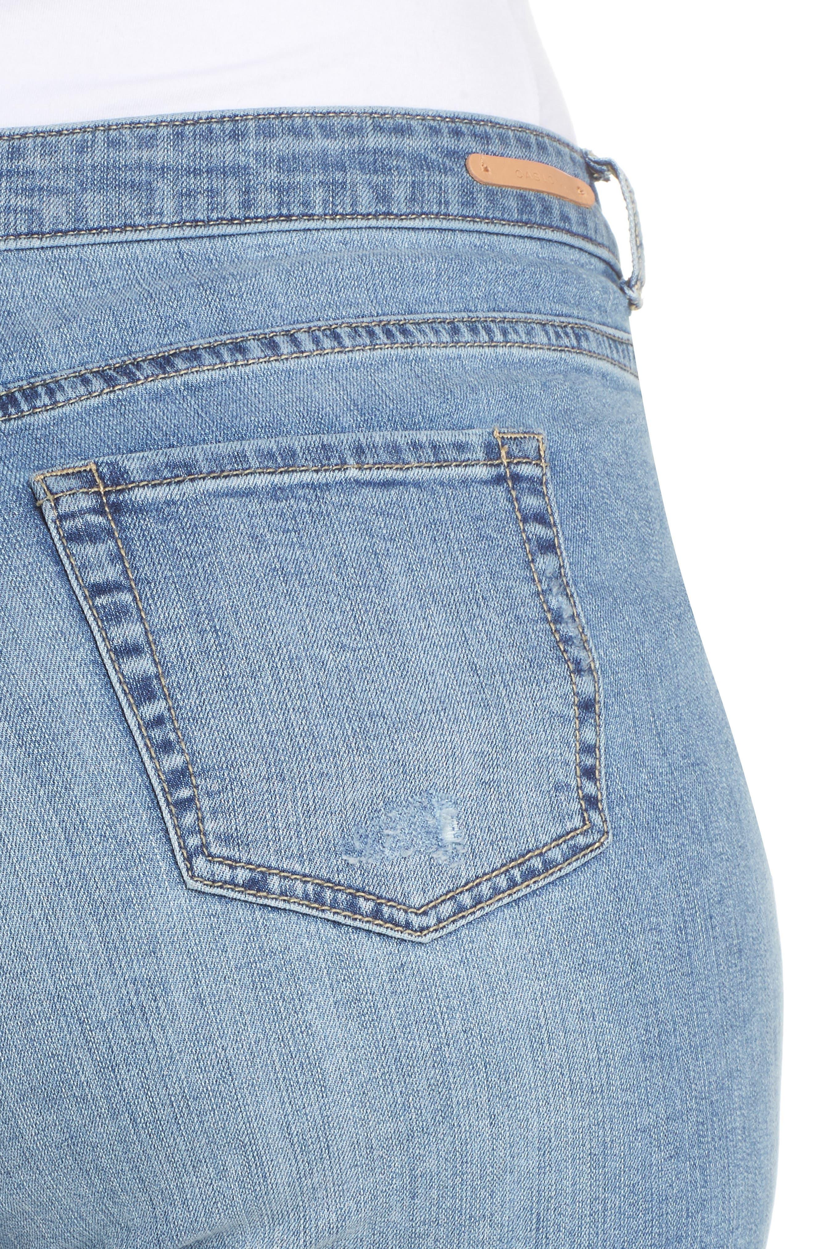 Distressed Jeans,                             Alternate thumbnail 3, color,                             Medium Destruct
