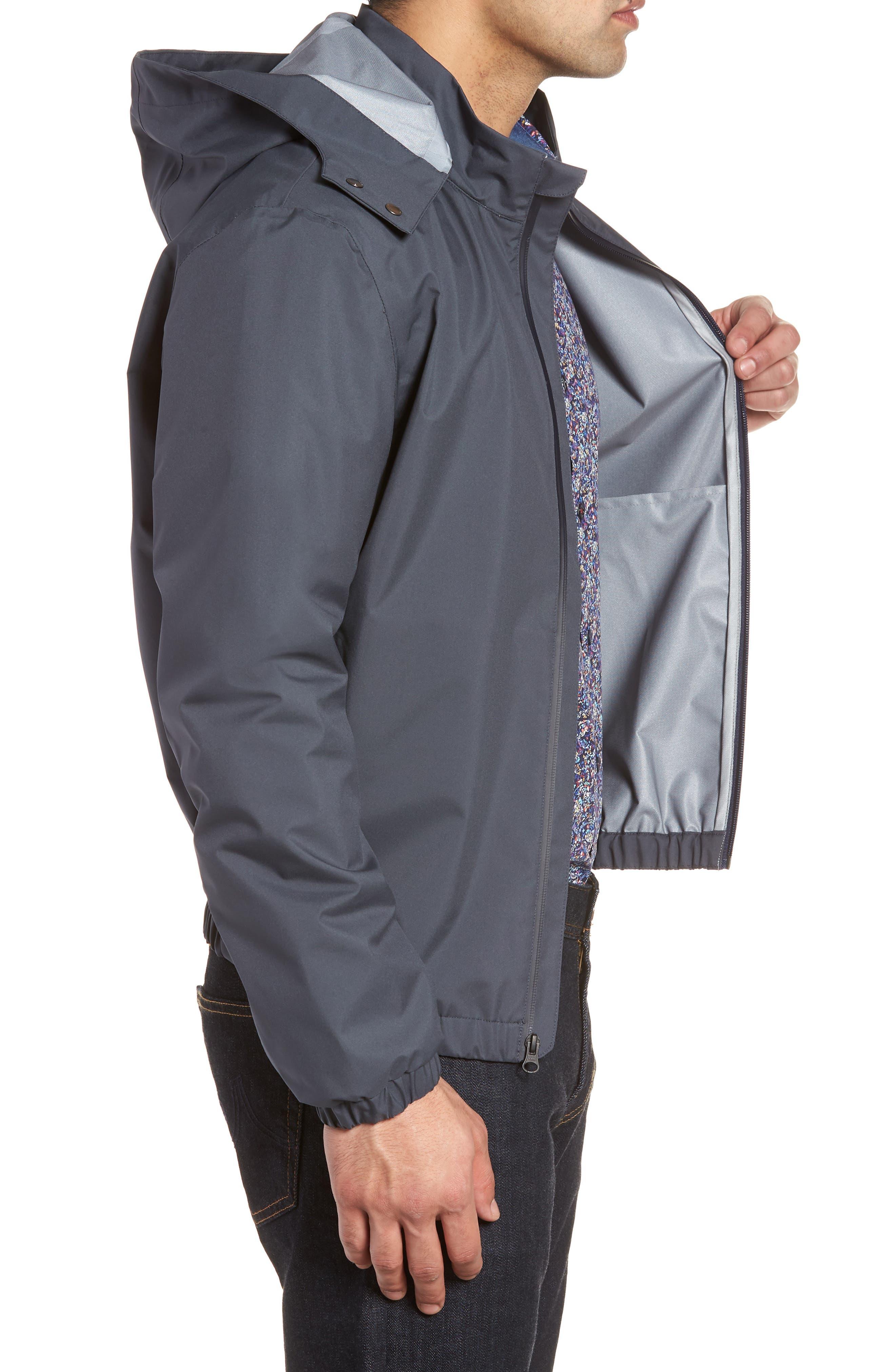 Regular Fit Jacket,                             Alternate thumbnail 3, color,                             Slate