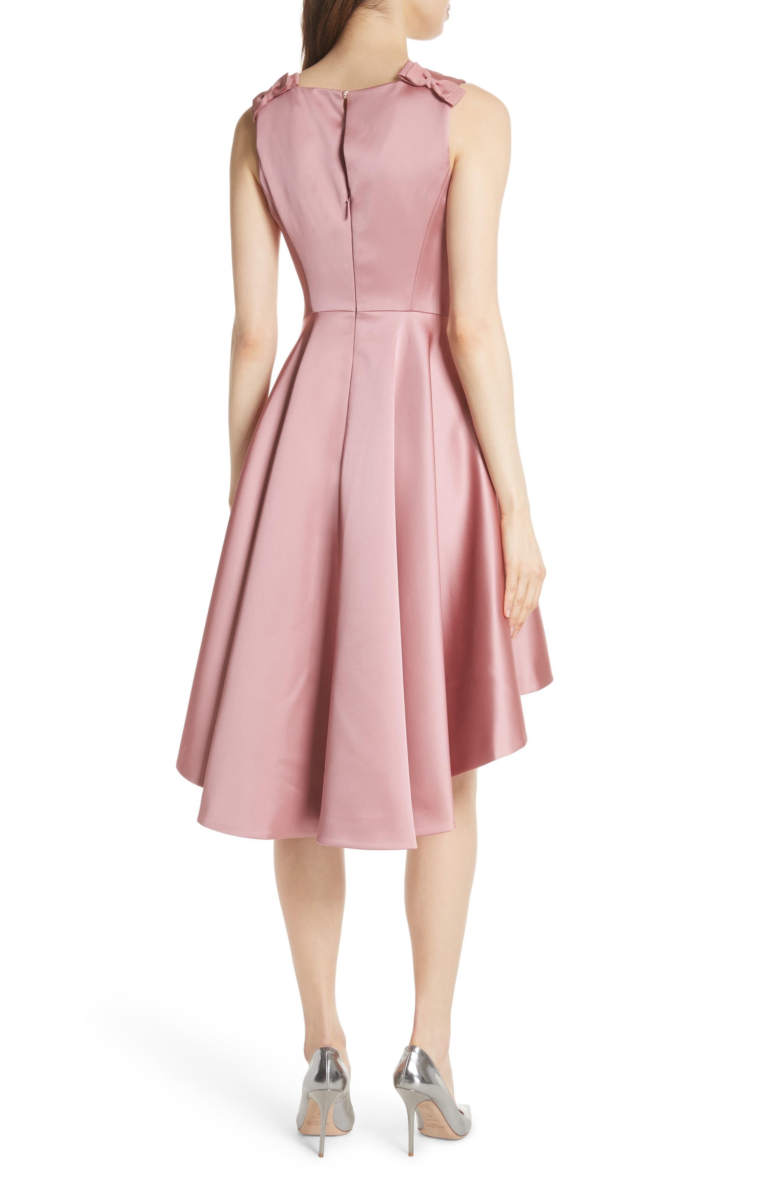 Rhubi High/Low Dress,                             Alternate thumbnail 2, color,                             Pink