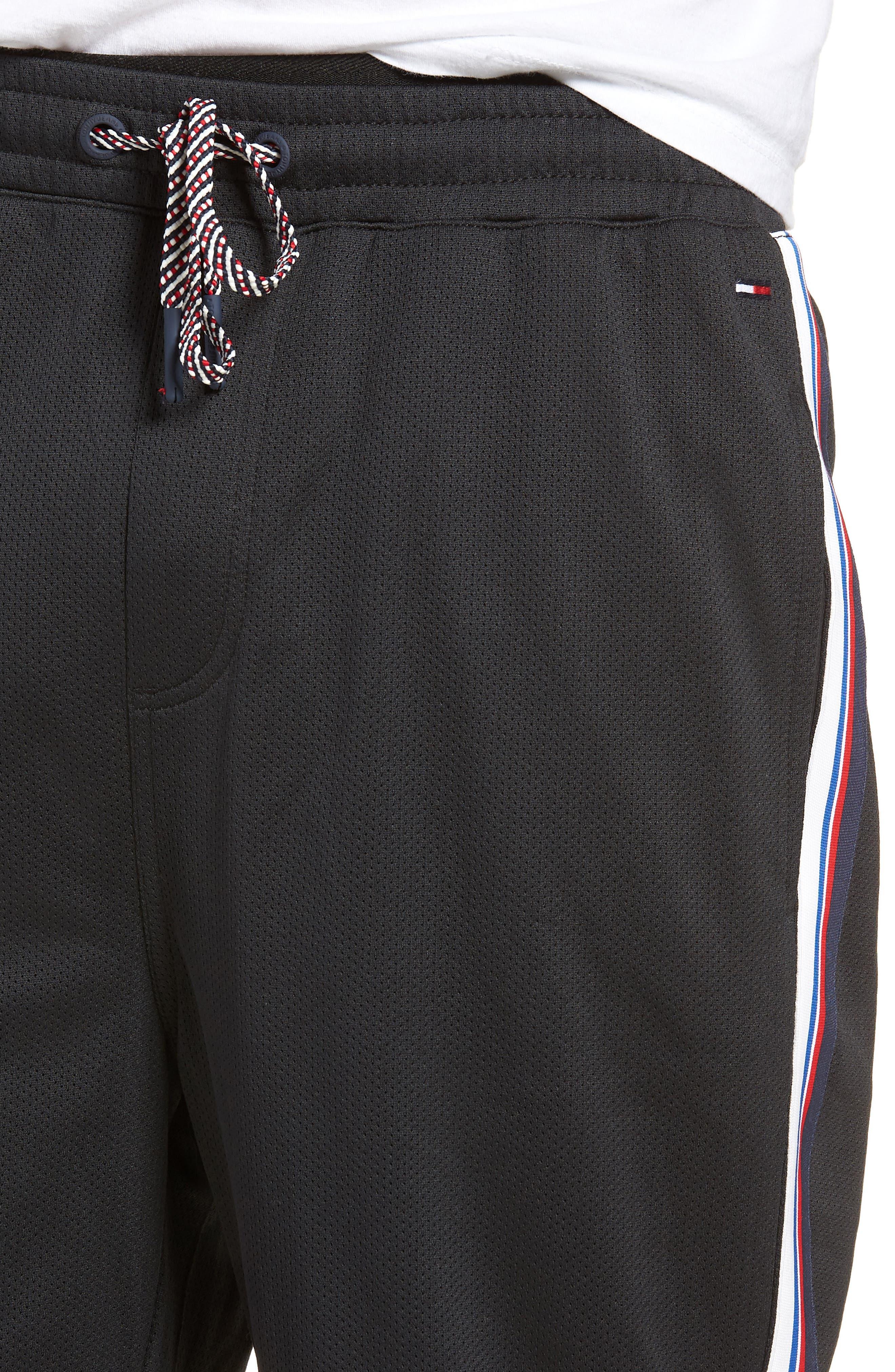 Lightweight Basketball Shorts,                             Alternate thumbnail 4, color,                             Tommy Black