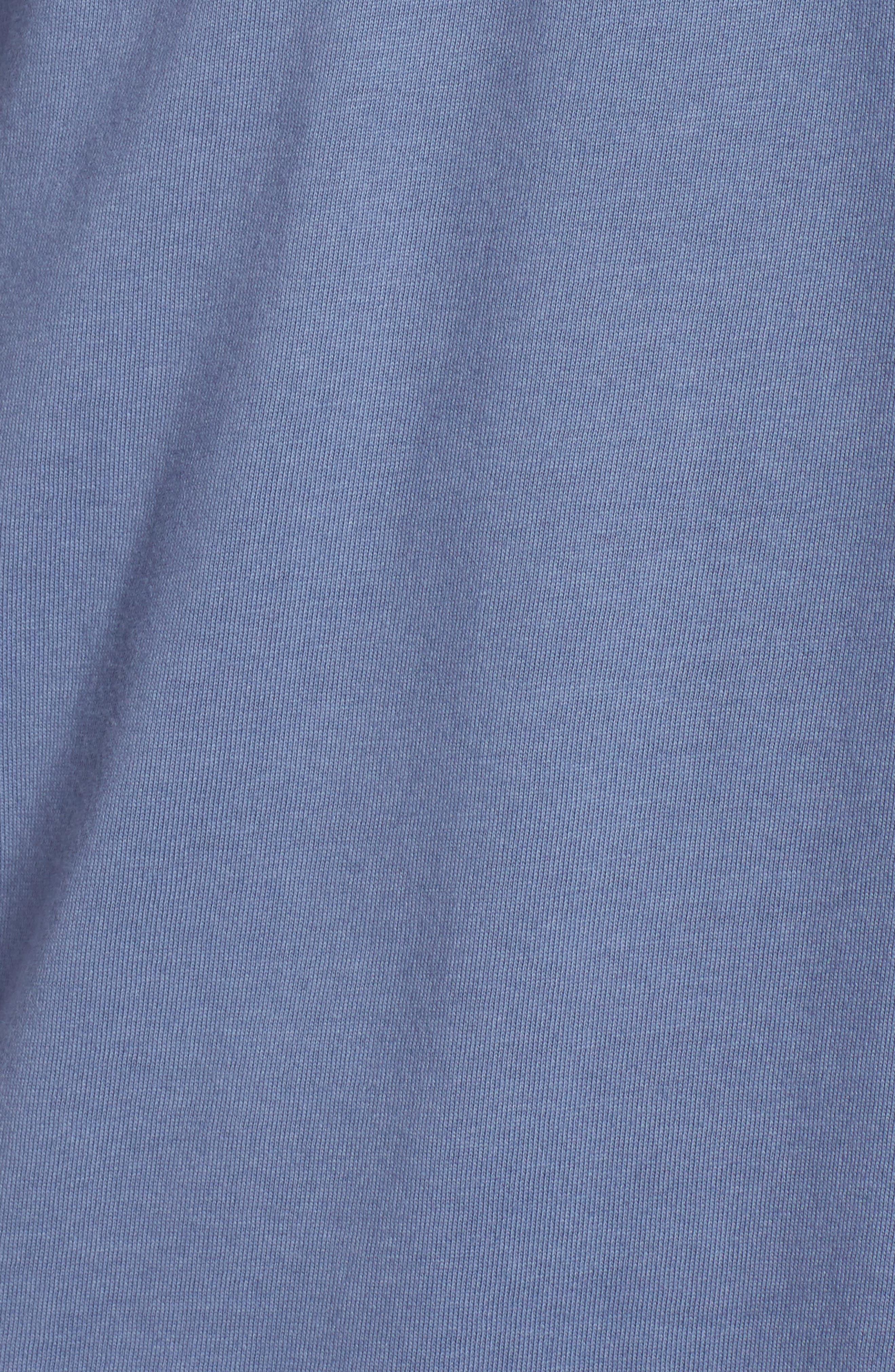Last Resort Pocket T-Shirt,                             Alternate thumbnail 5, color,                             Deep Blue