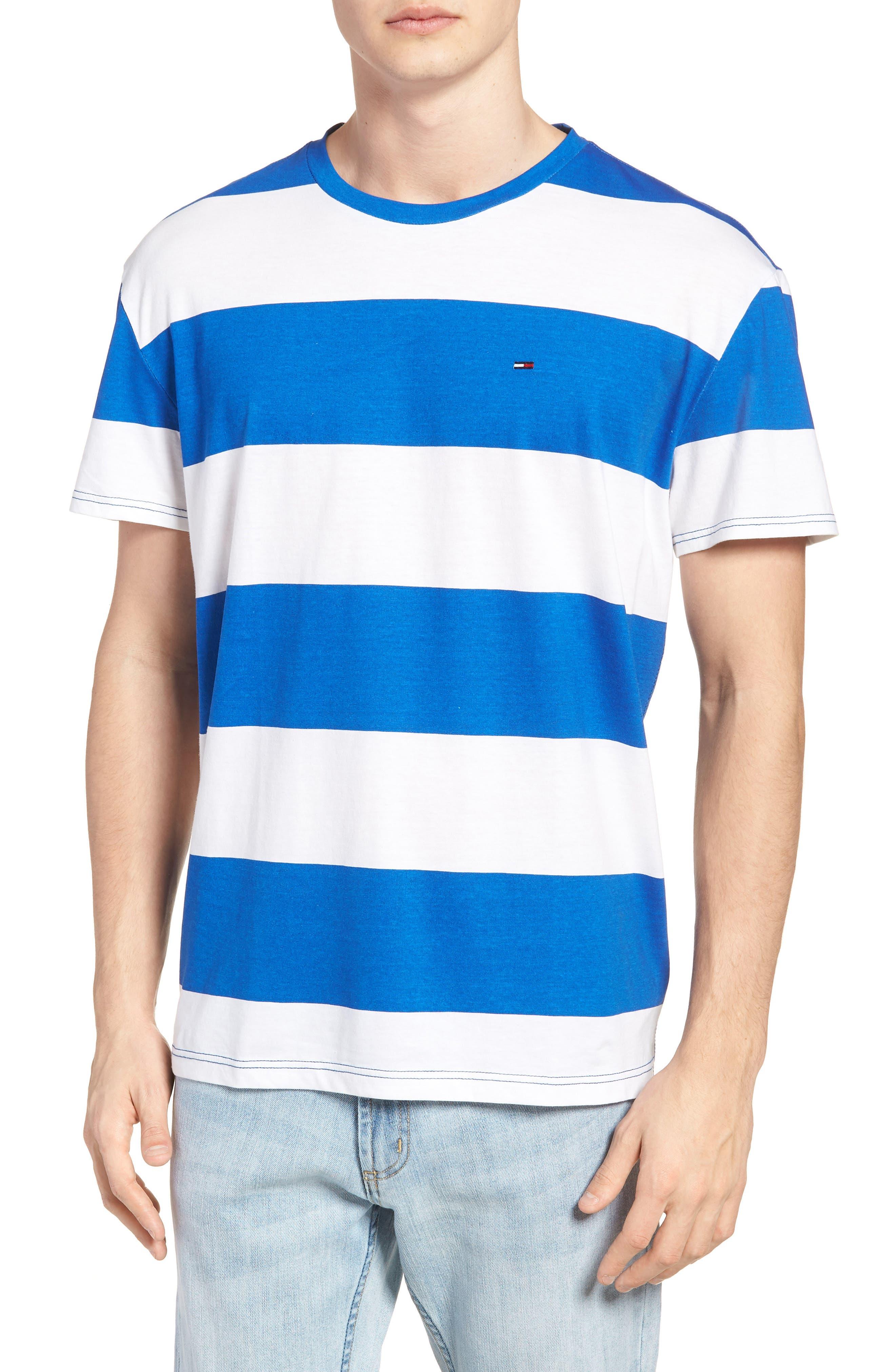 TOMMY JEANS Race Stripe T-Shirt