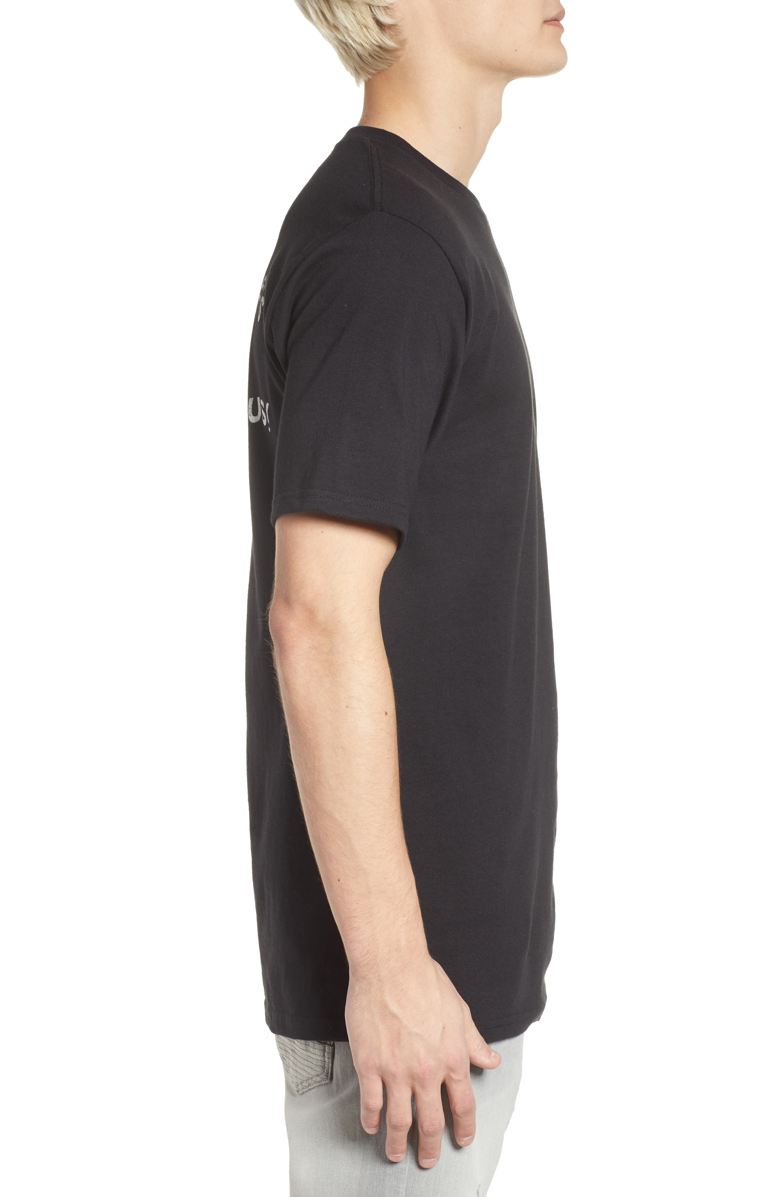 Swingers Saloon T-Shirt,                             Alternate thumbnail 3, color,                             Black