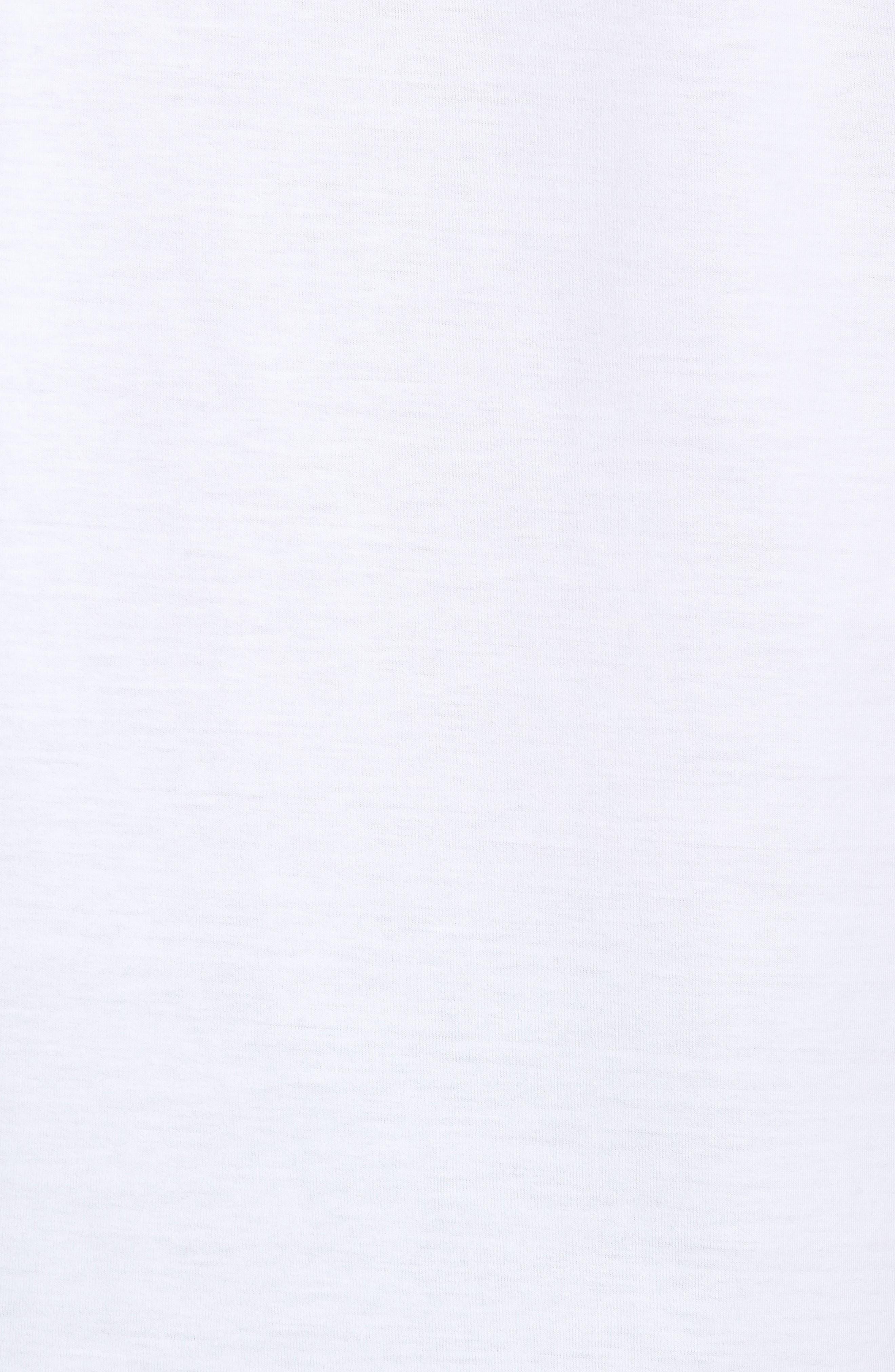 Crewneck T-Shirt,                             Alternate thumbnail 5, color,                             White