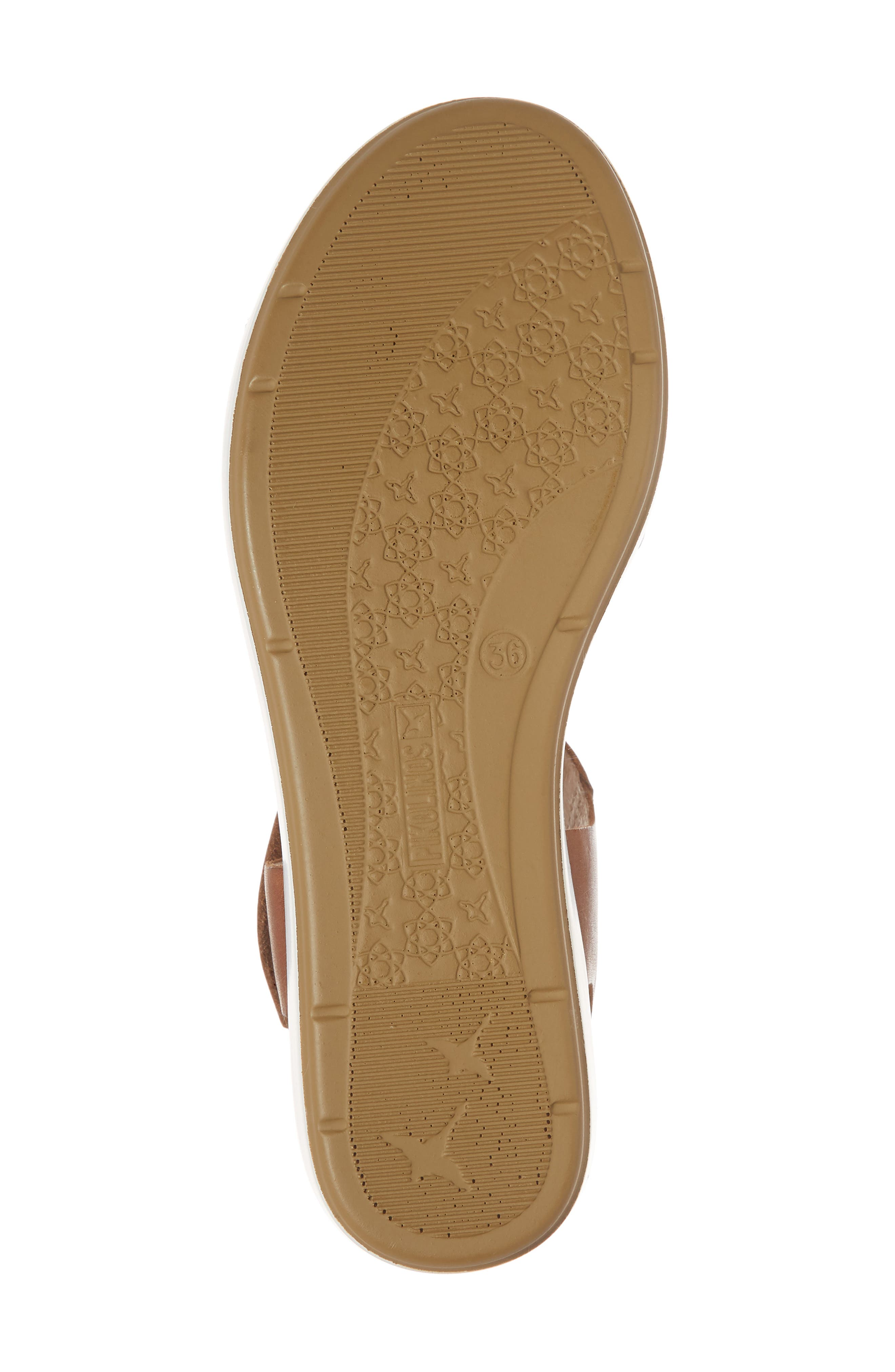 Mykonos Sport Sandal,                             Alternate thumbnail 6, color,                             Royal Blue Leather