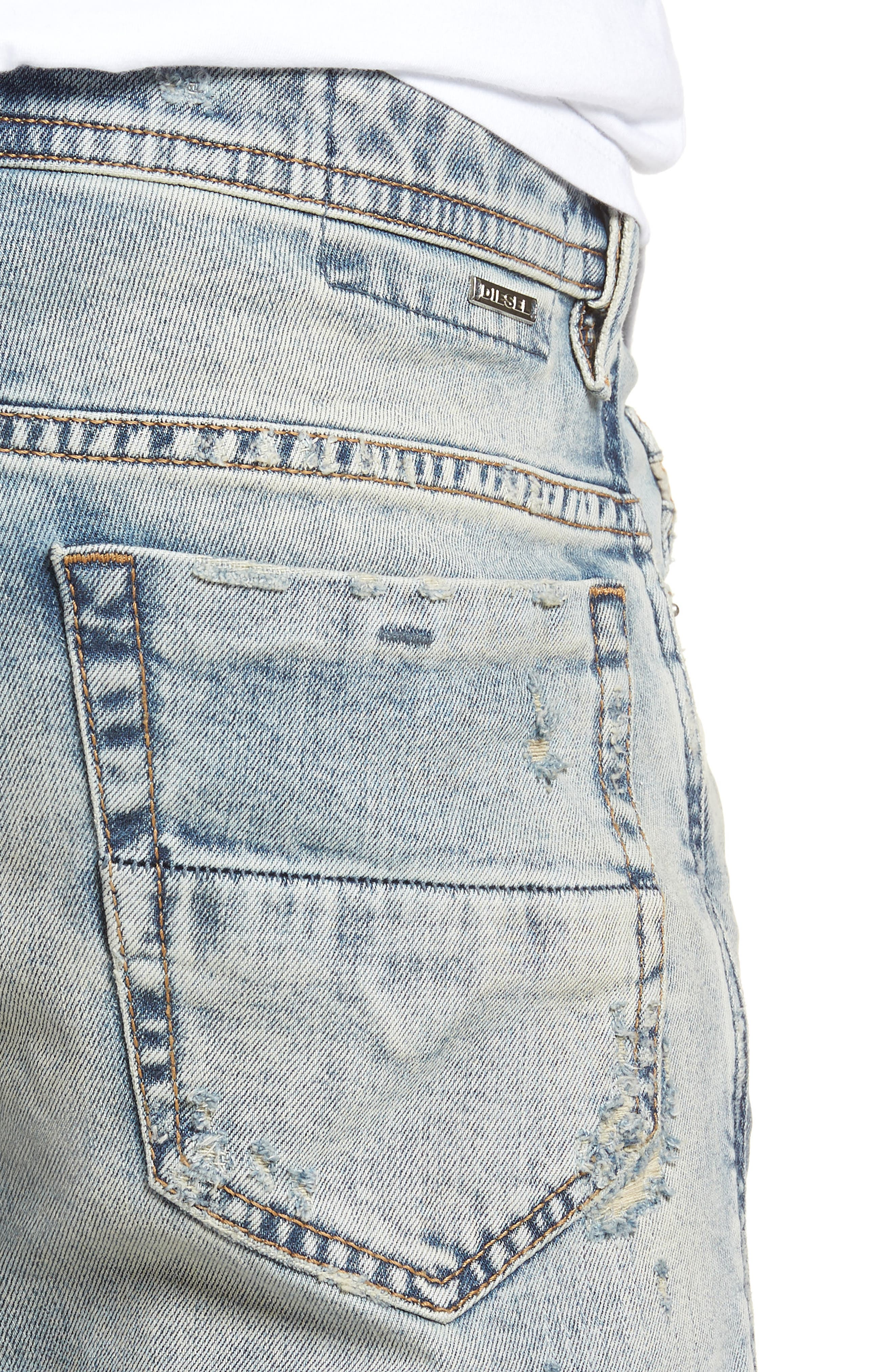 Thommer Skinny Fit Jeans,                             Alternate thumbnail 4, color,                             084Rf
