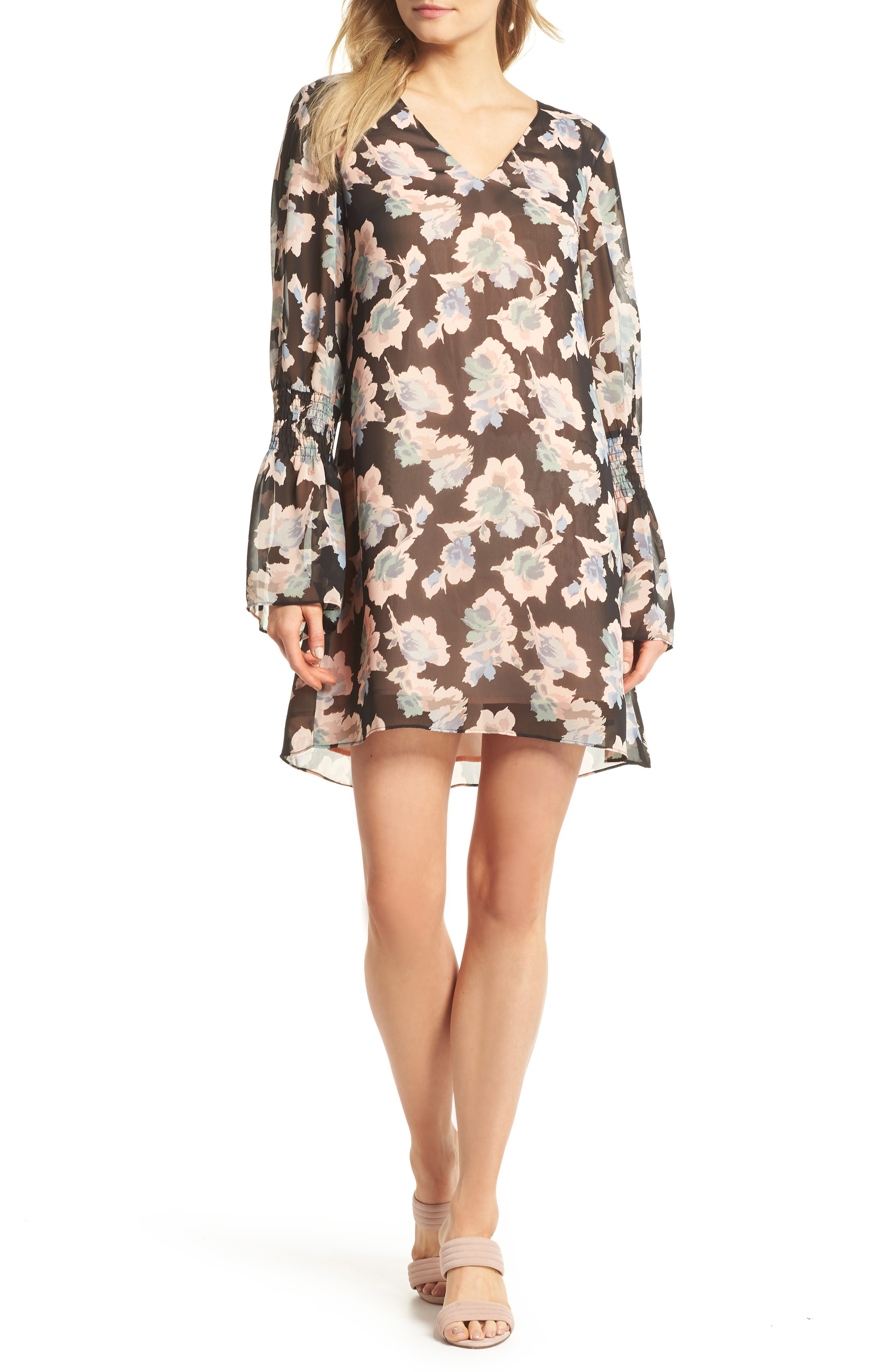 Mary & Mabel Floral Shift Dress