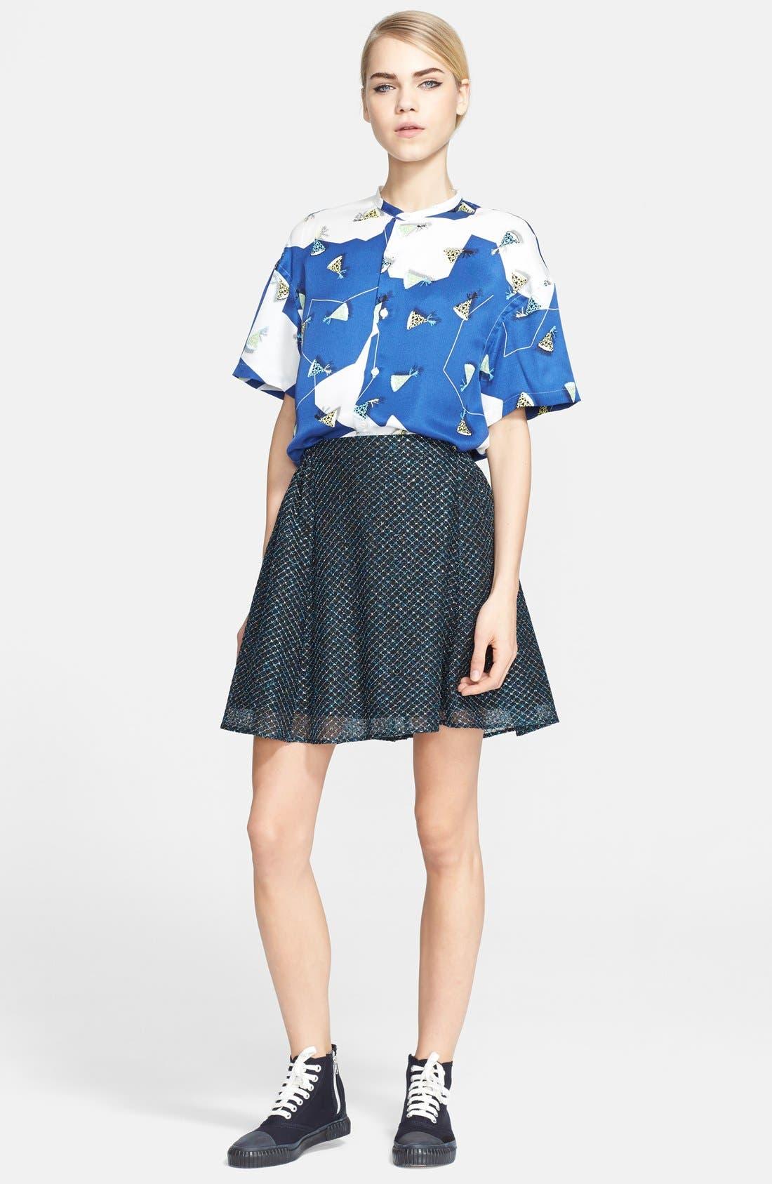 Alternate Image 3  - Julien David Lamé Lace Skirt