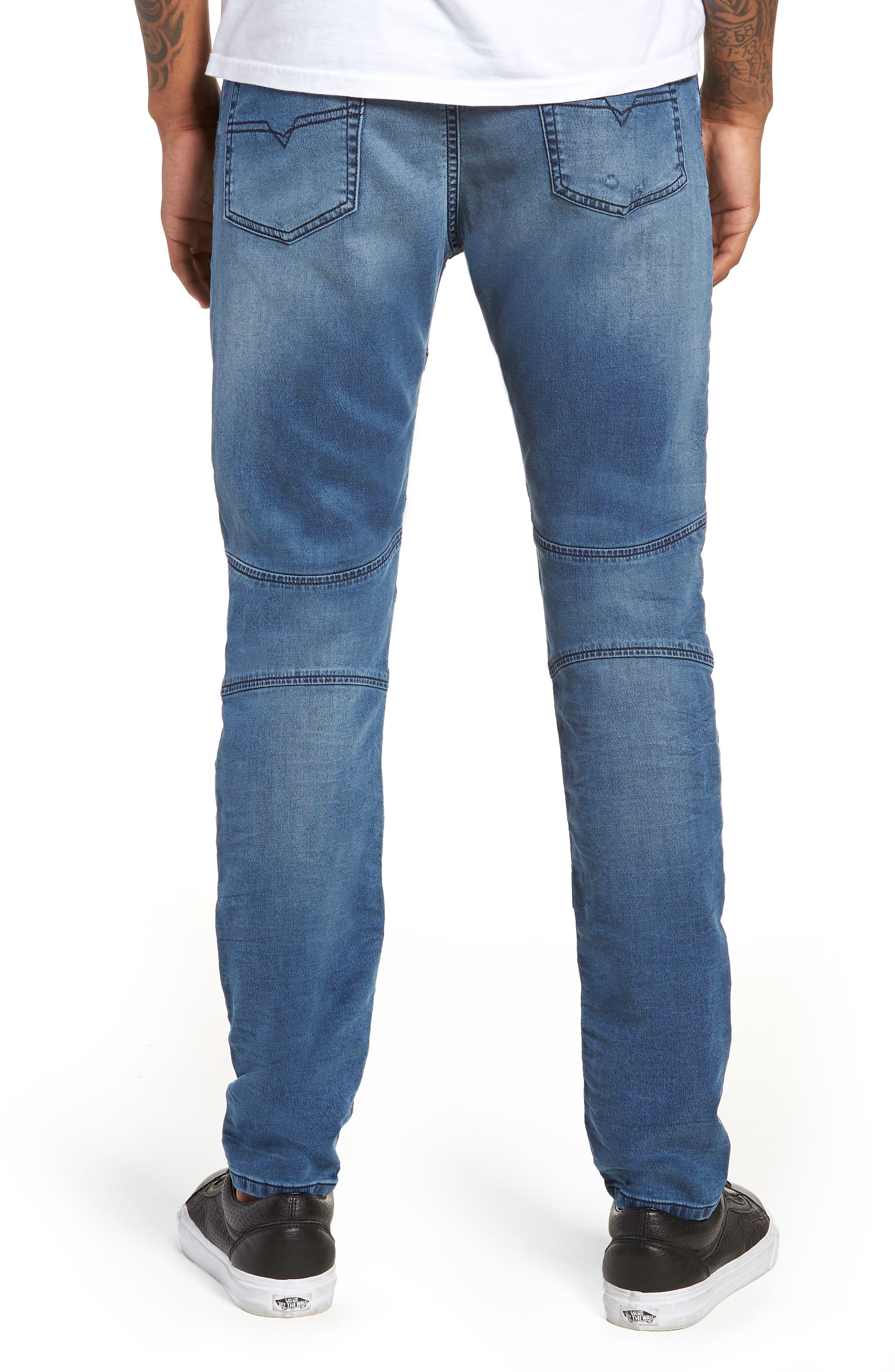 Bakari Skinny Fit Jeans,                             Alternate thumbnail 2, color,                             0688Y