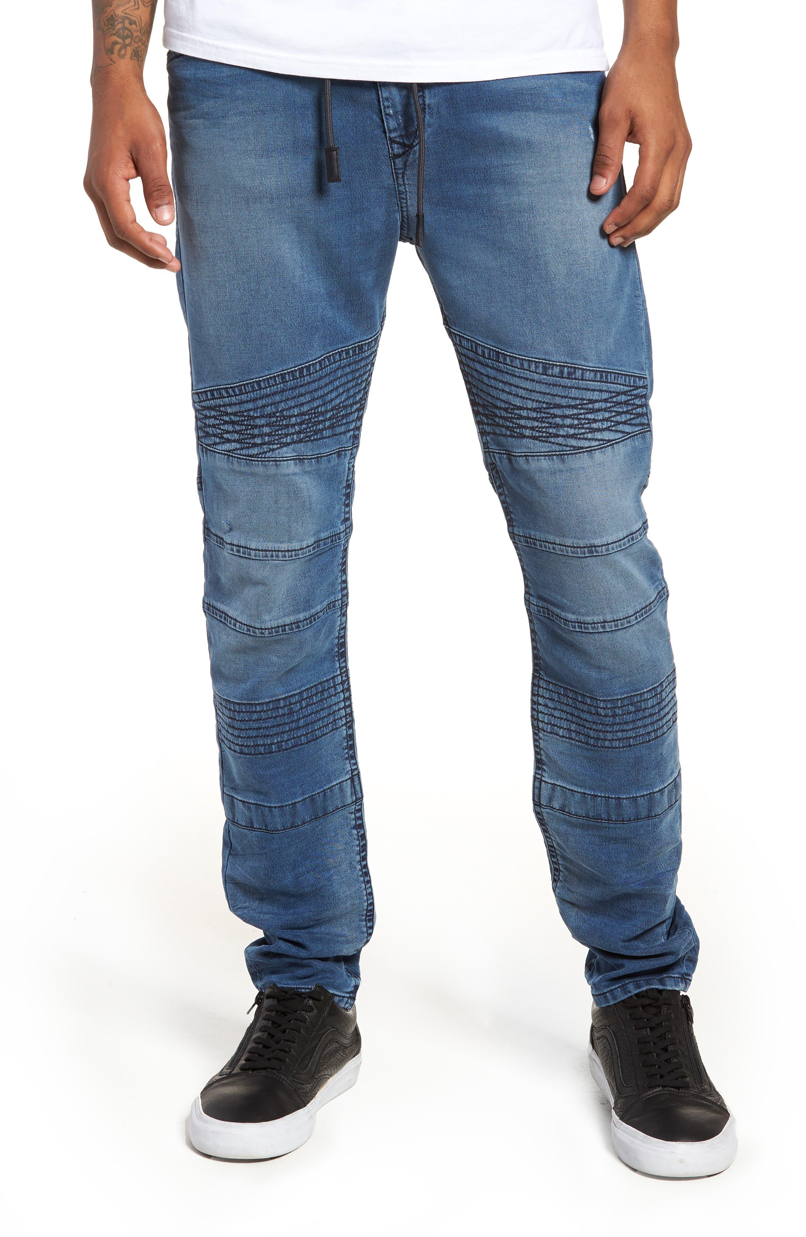 Bakari Skinny Fit Jeans,                             Main thumbnail 1, color,                             0688Y