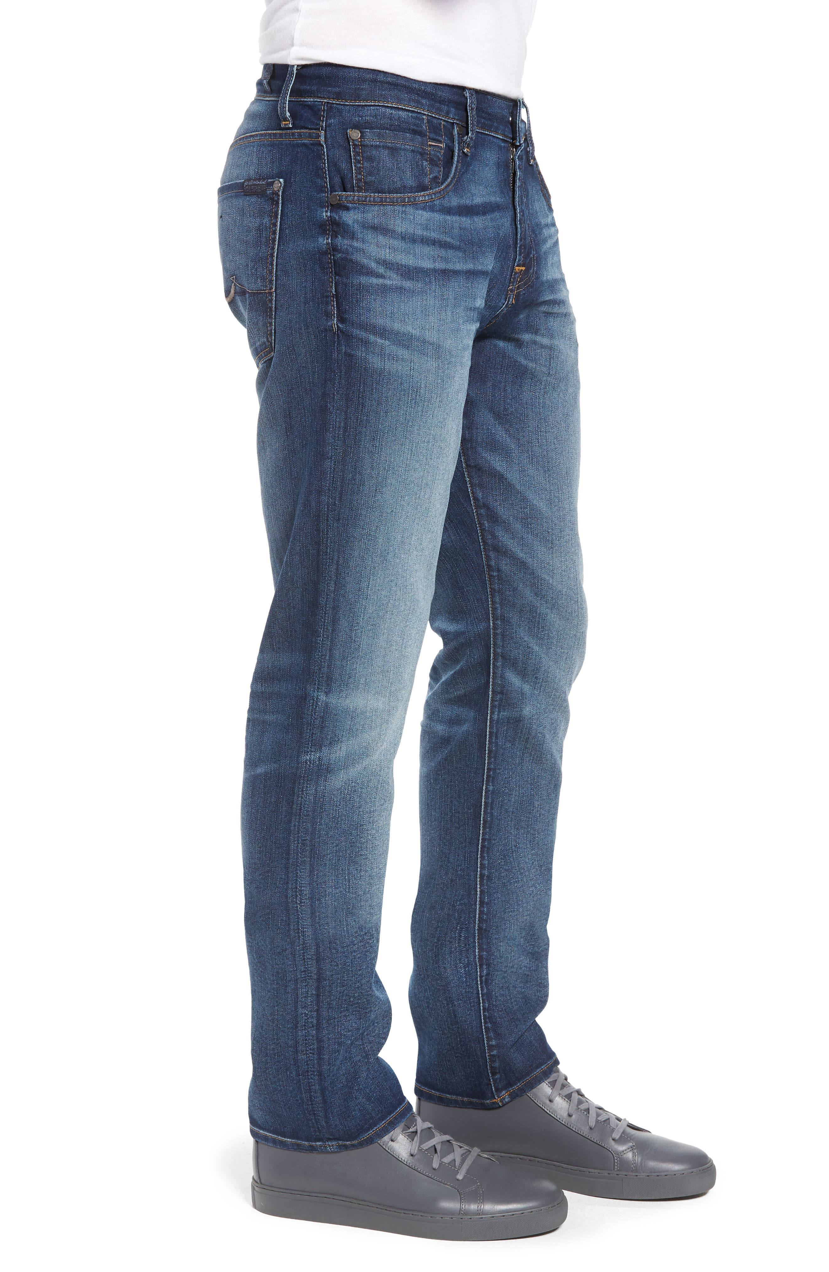 The Straight Slim Straight Leg Jeans,                             Alternate thumbnail 3, color,                             Recon