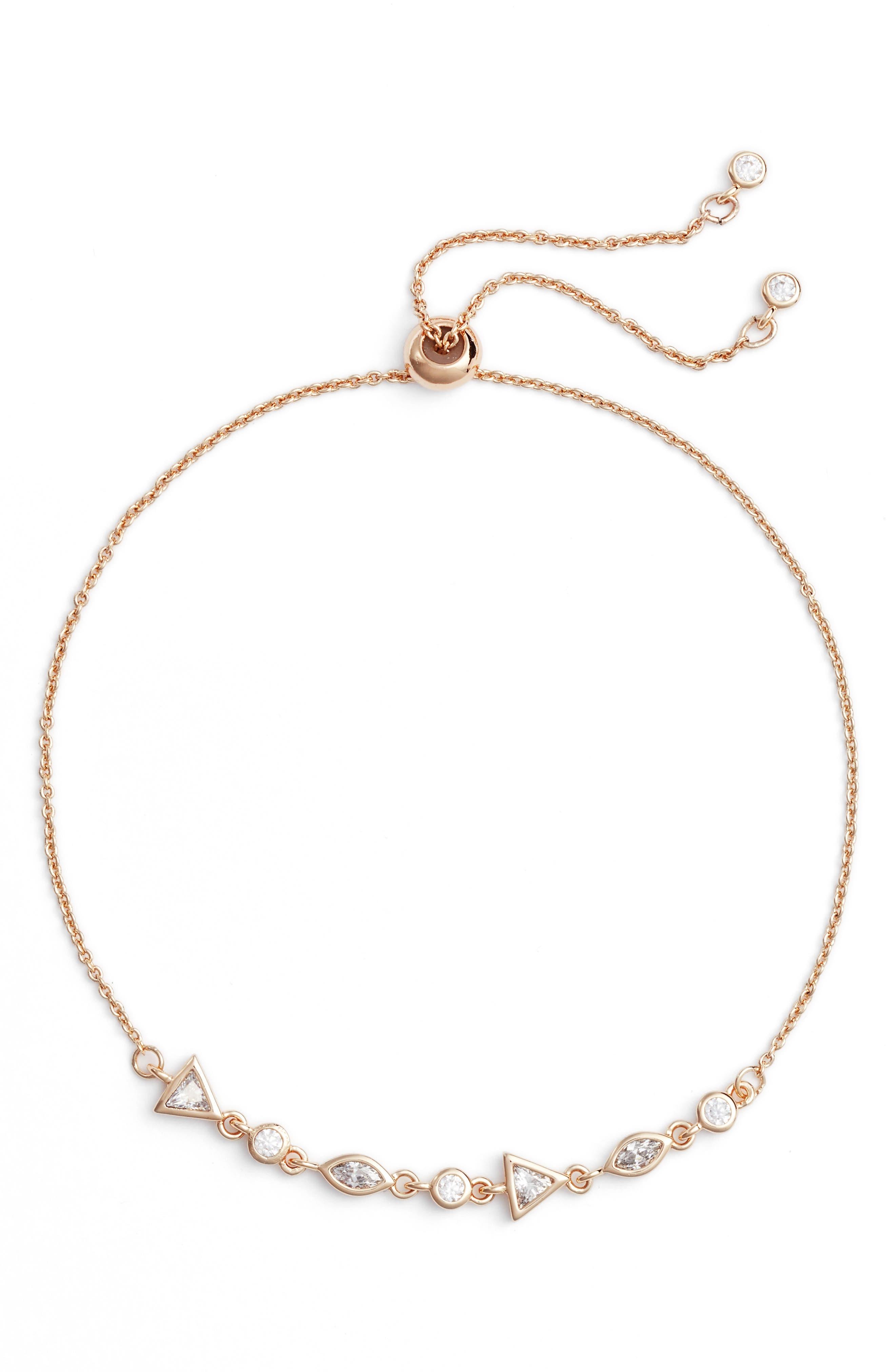 Zio Geo Bracelet,                         Main,                         color, Gold