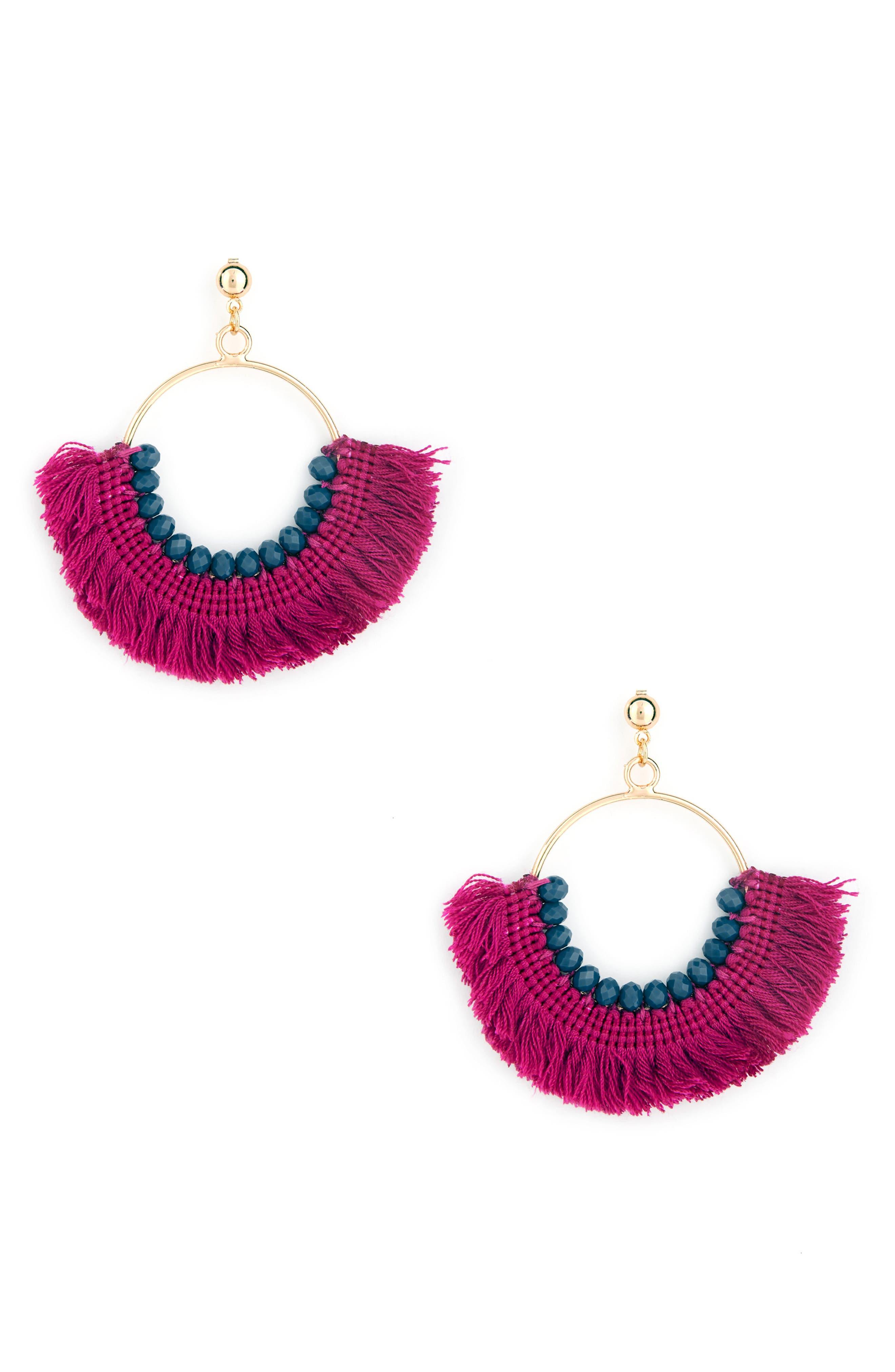 Sole Society Havana Fringe Earrings