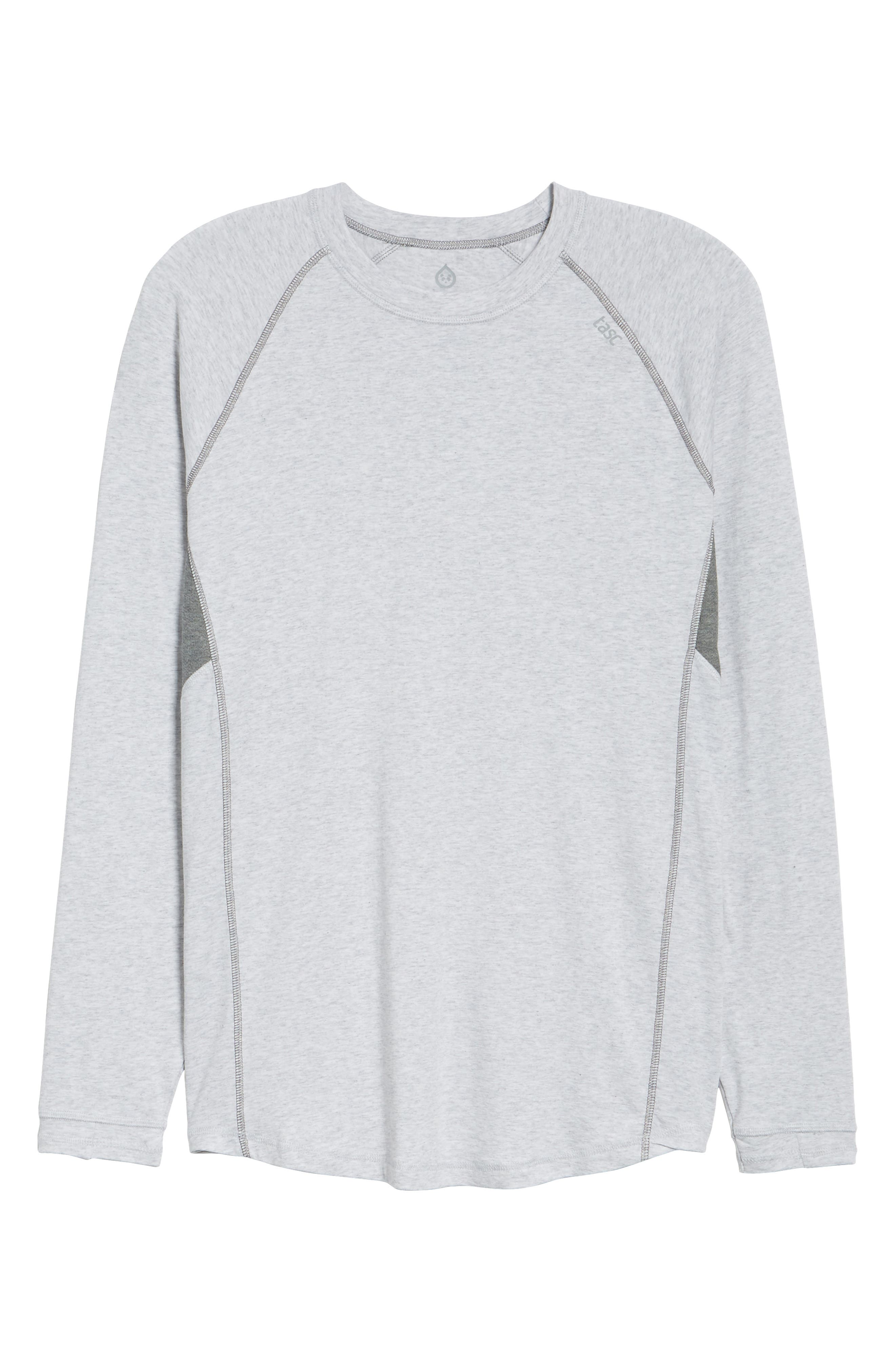 Charge II Long Sleeve Shirt,                             Alternate thumbnail 6, color,                             Light Heather Gray