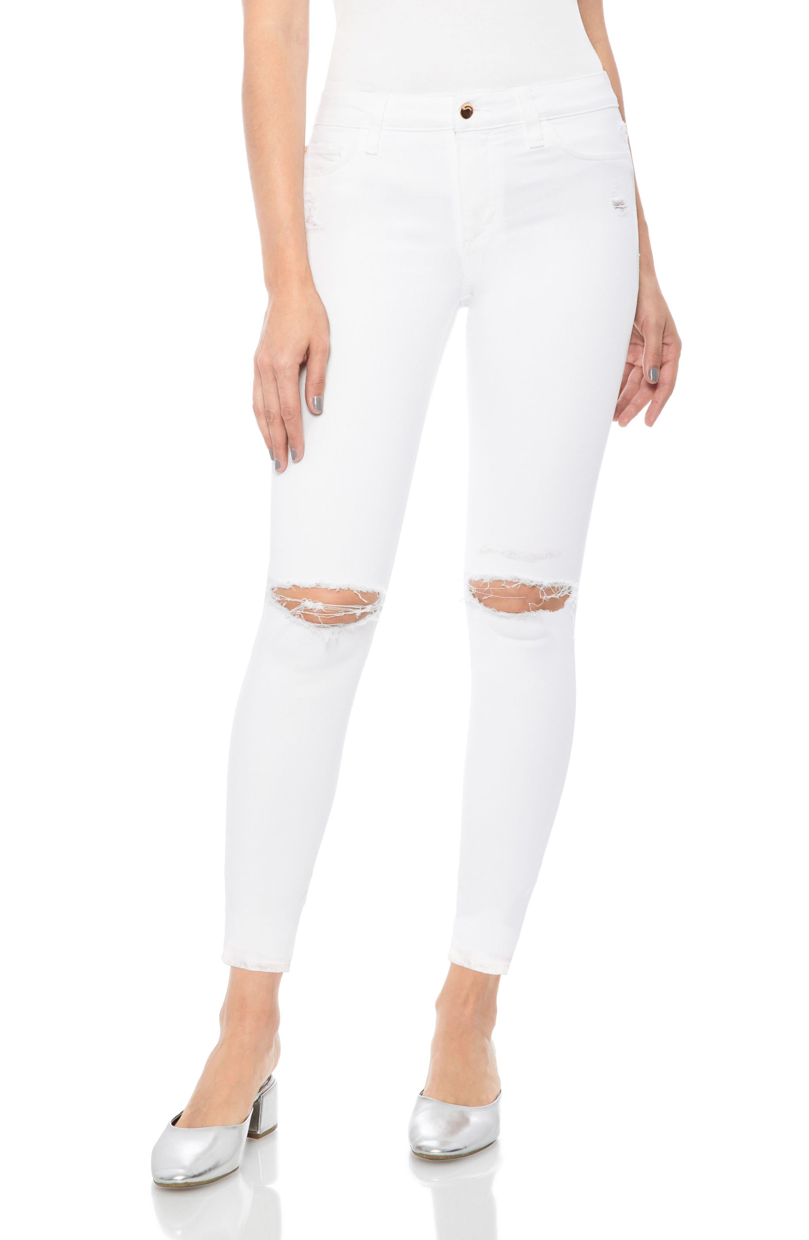 Flawless - Icon Crop Skinny Jeans,                             Main thumbnail 1, color,                             Gloriya