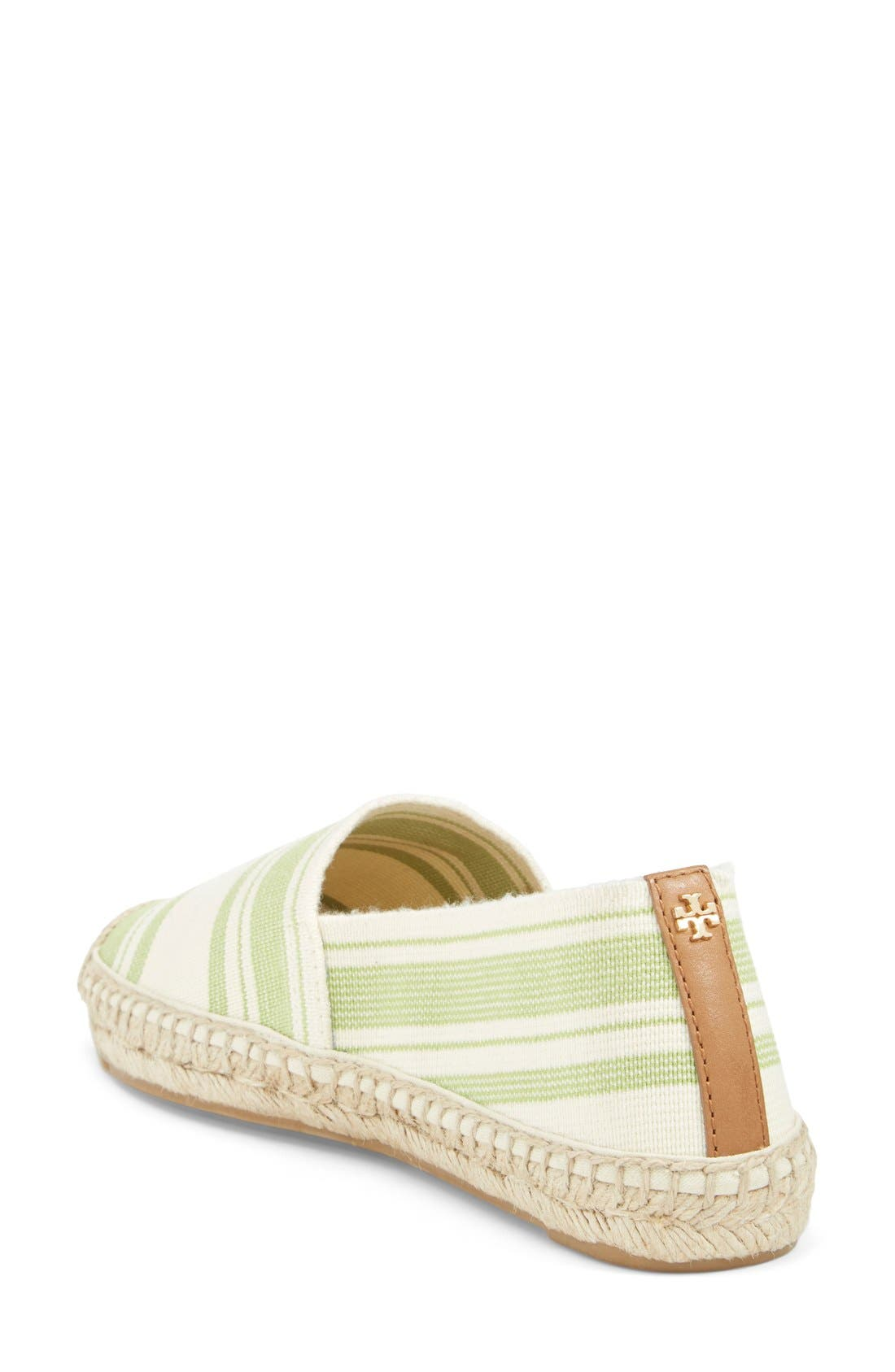 Alternate Image 4  - Tory Burch Stripe Espadrille Flat (Women)