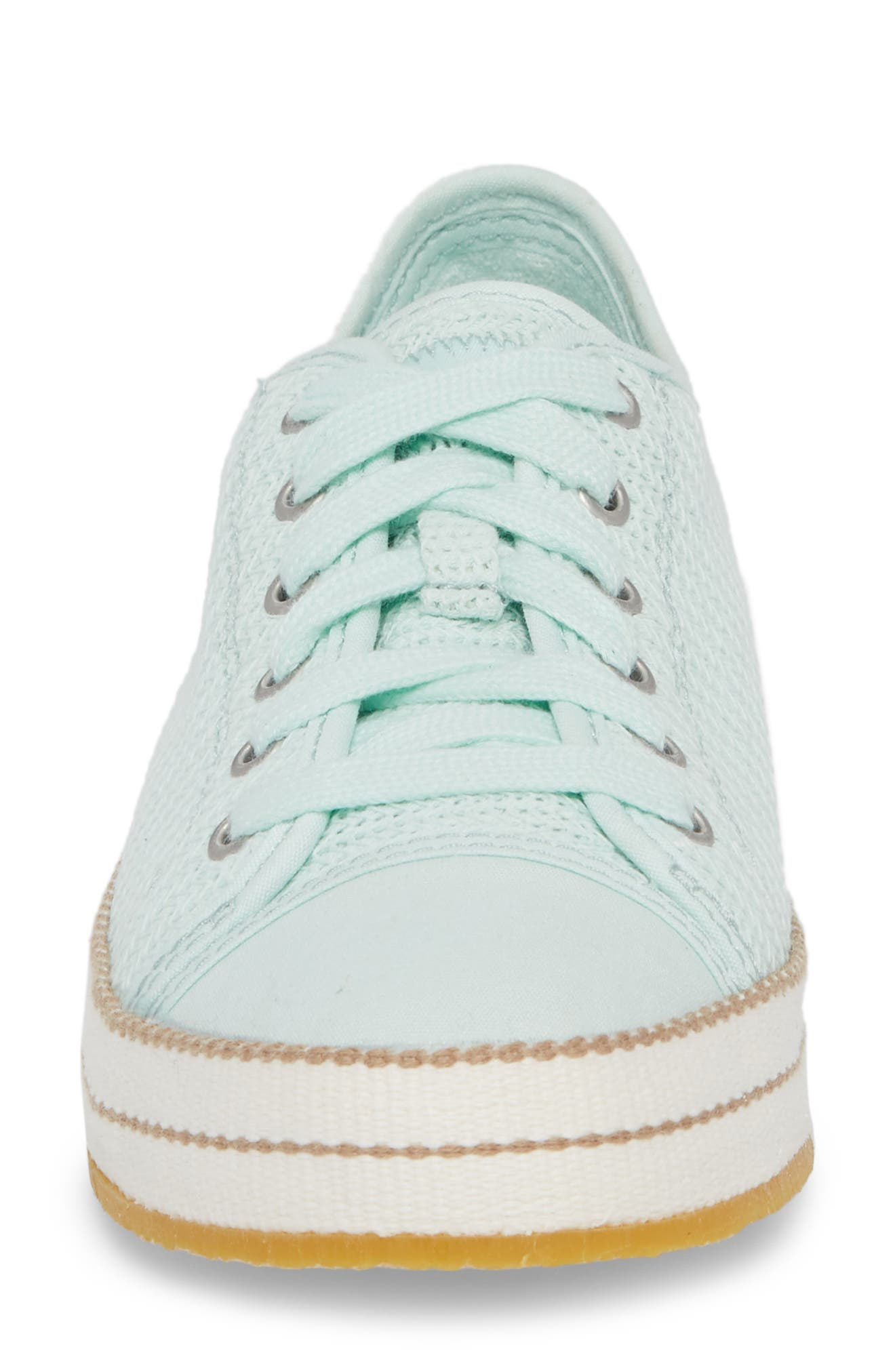Claudi Sneaker,                             Alternate thumbnail 4, color,                             Aqua