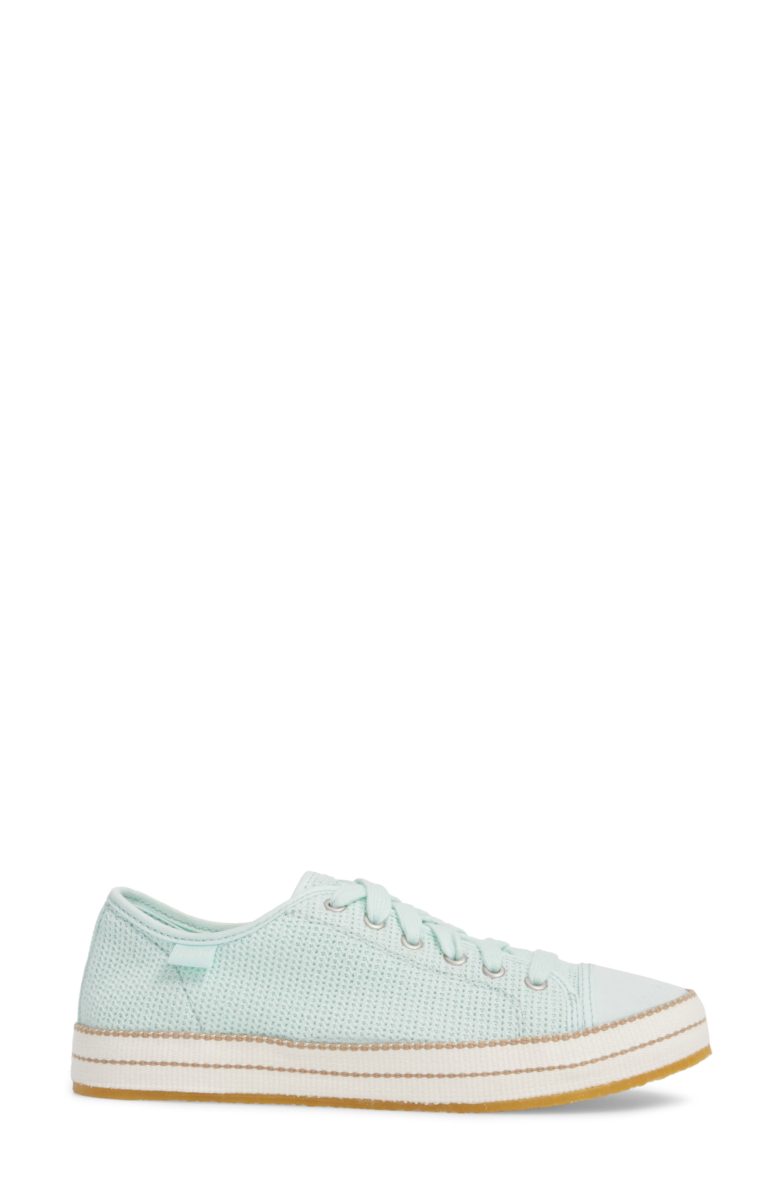 Claudi Sneaker,                             Alternate thumbnail 3, color,                             Aqua