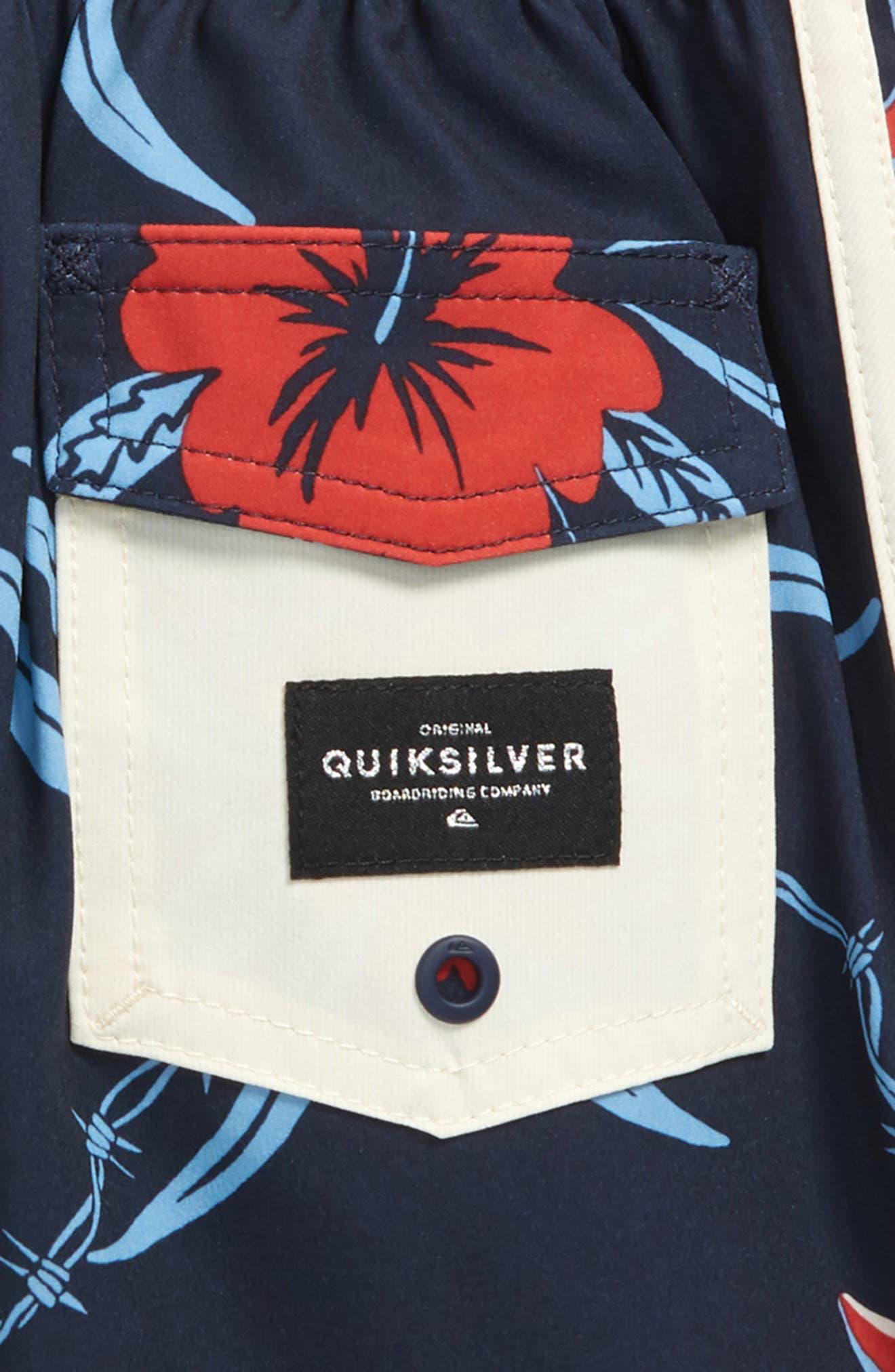 Highline Trespasser Board Shorts,                             Alternate thumbnail 2, color,                             Navy Blazer