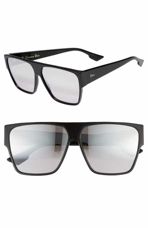 3ac1beeba08 Dior 62mm Flat Top Square Sunglasses
