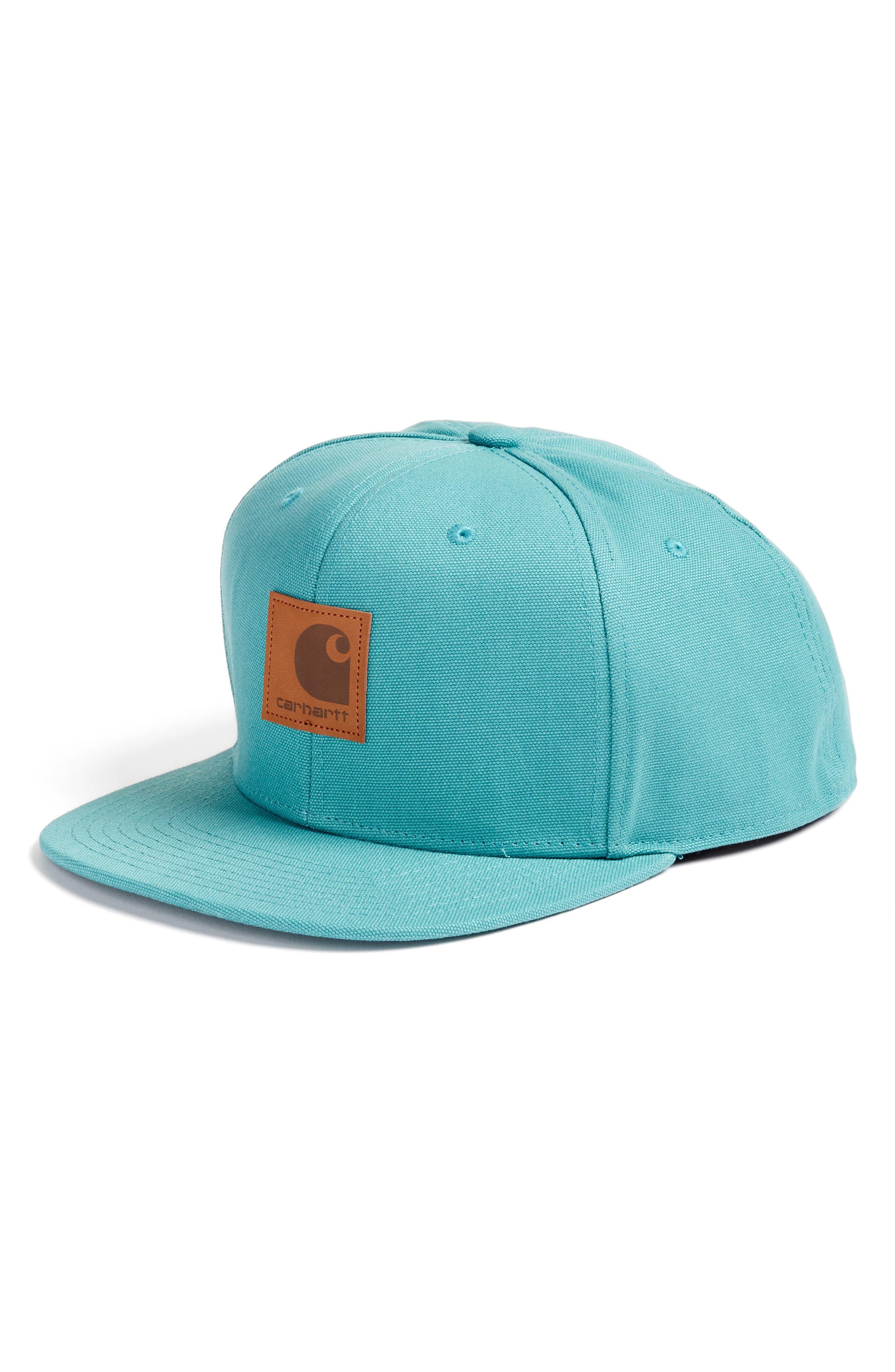 Snapback Cap,                         Main,                         color, Soft Teal