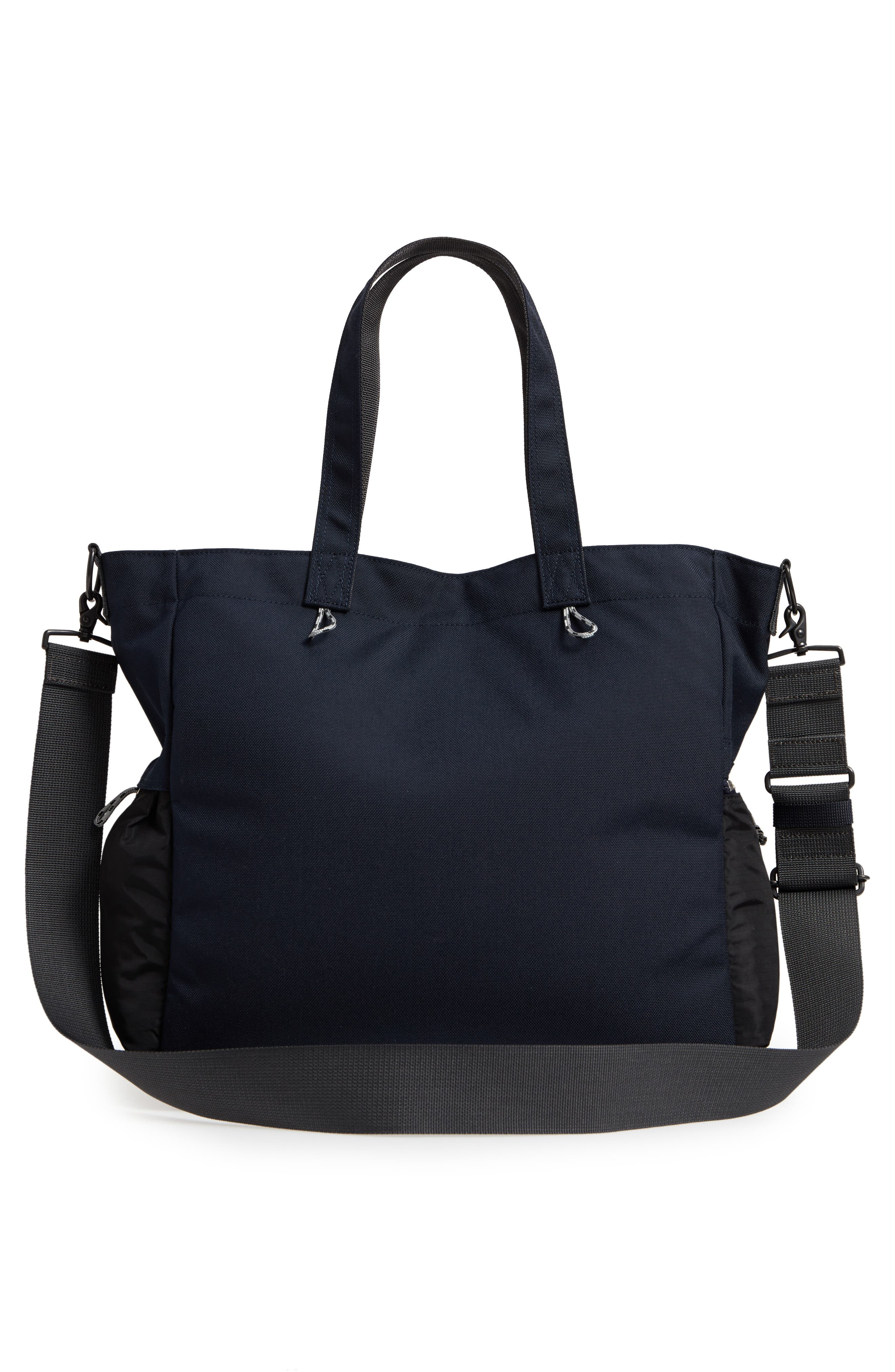 Porter-Yoshida & Co. Hype Tote Bag,                             Alternate thumbnail 3, color,                             Navy/ Black