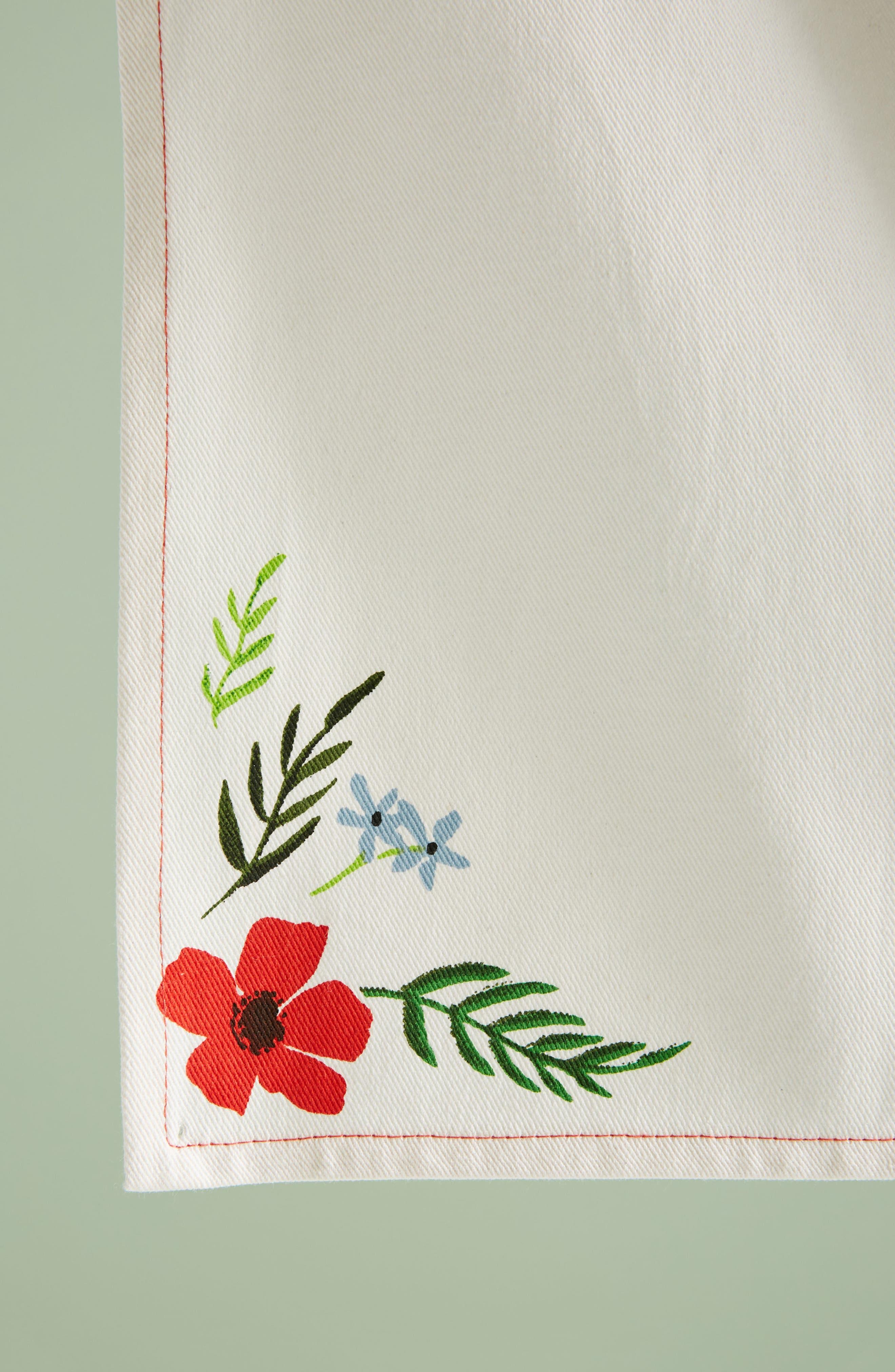Tying the Knot Dishtowel,                             Alternate thumbnail 3, color,                             White