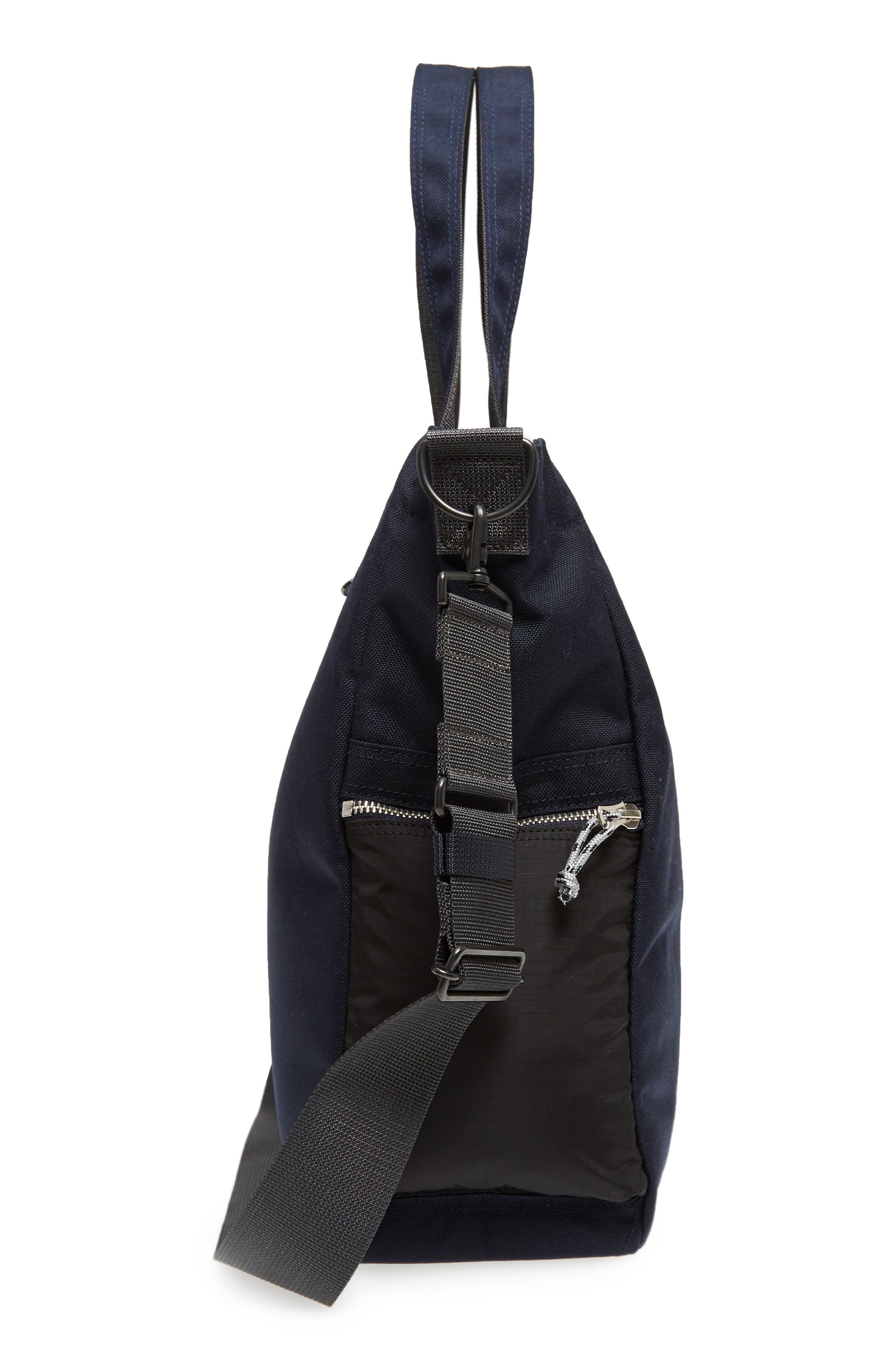 Porter-Yoshida & Co. Hype Tote Bag,                             Alternate thumbnail 5, color,                             Navy/ Black