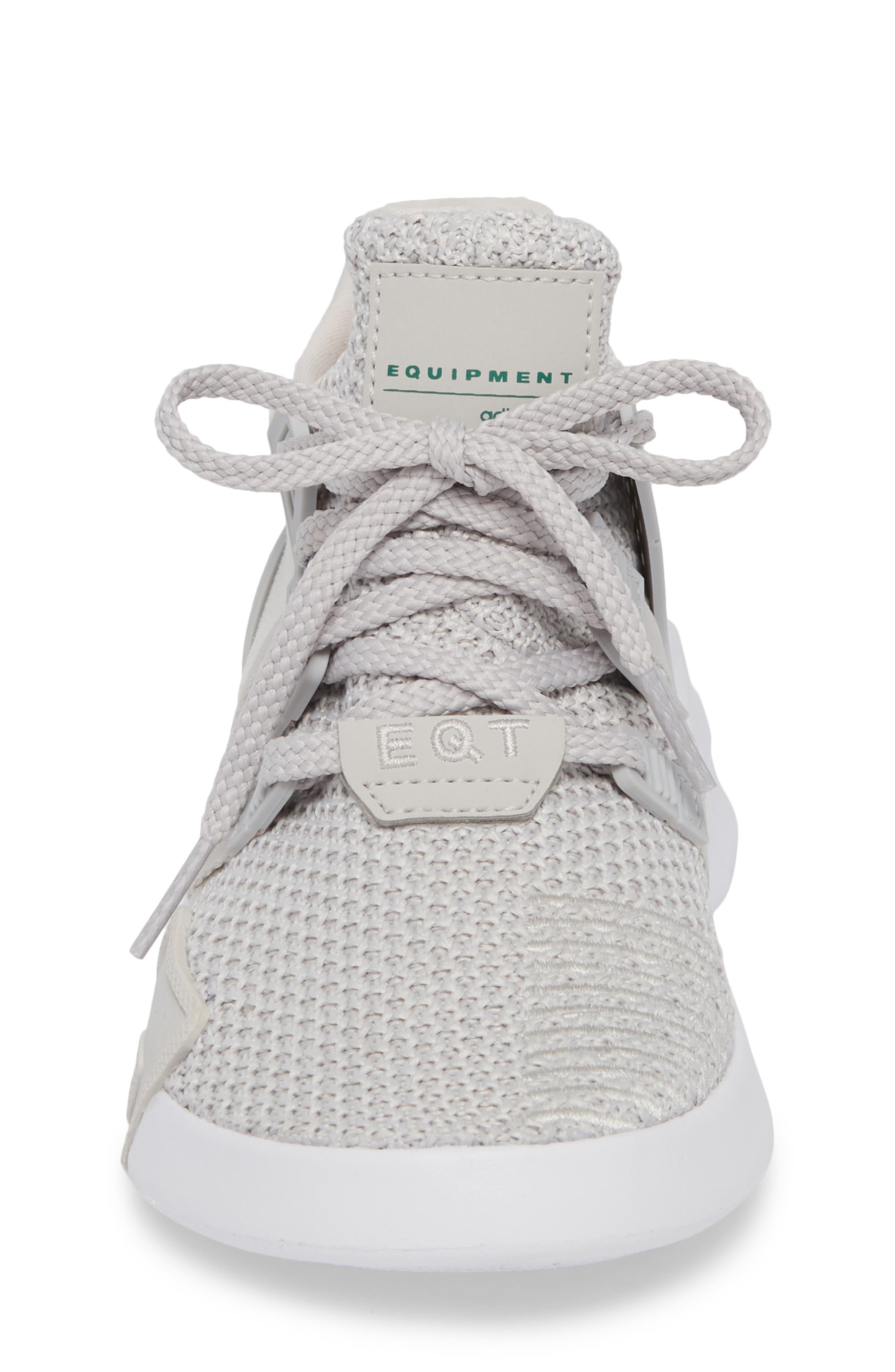 EQT Basketball ADV I Sneaker,                             Alternate thumbnail 4, color,                             Grey / Grey / Green