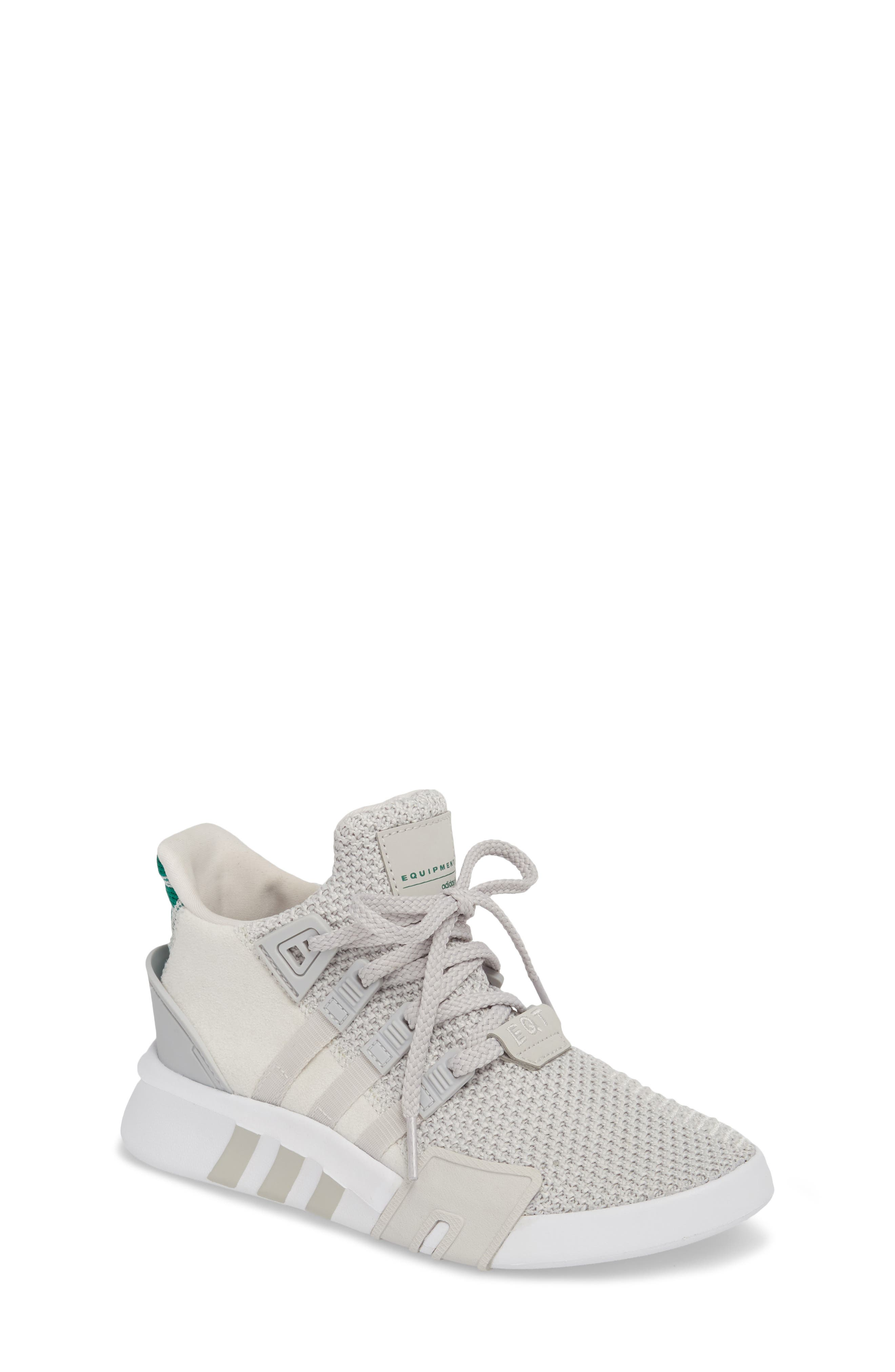 EQT Basketball ADV I Sneaker,                             Main thumbnail 1, color,                             Grey / Grey / Green