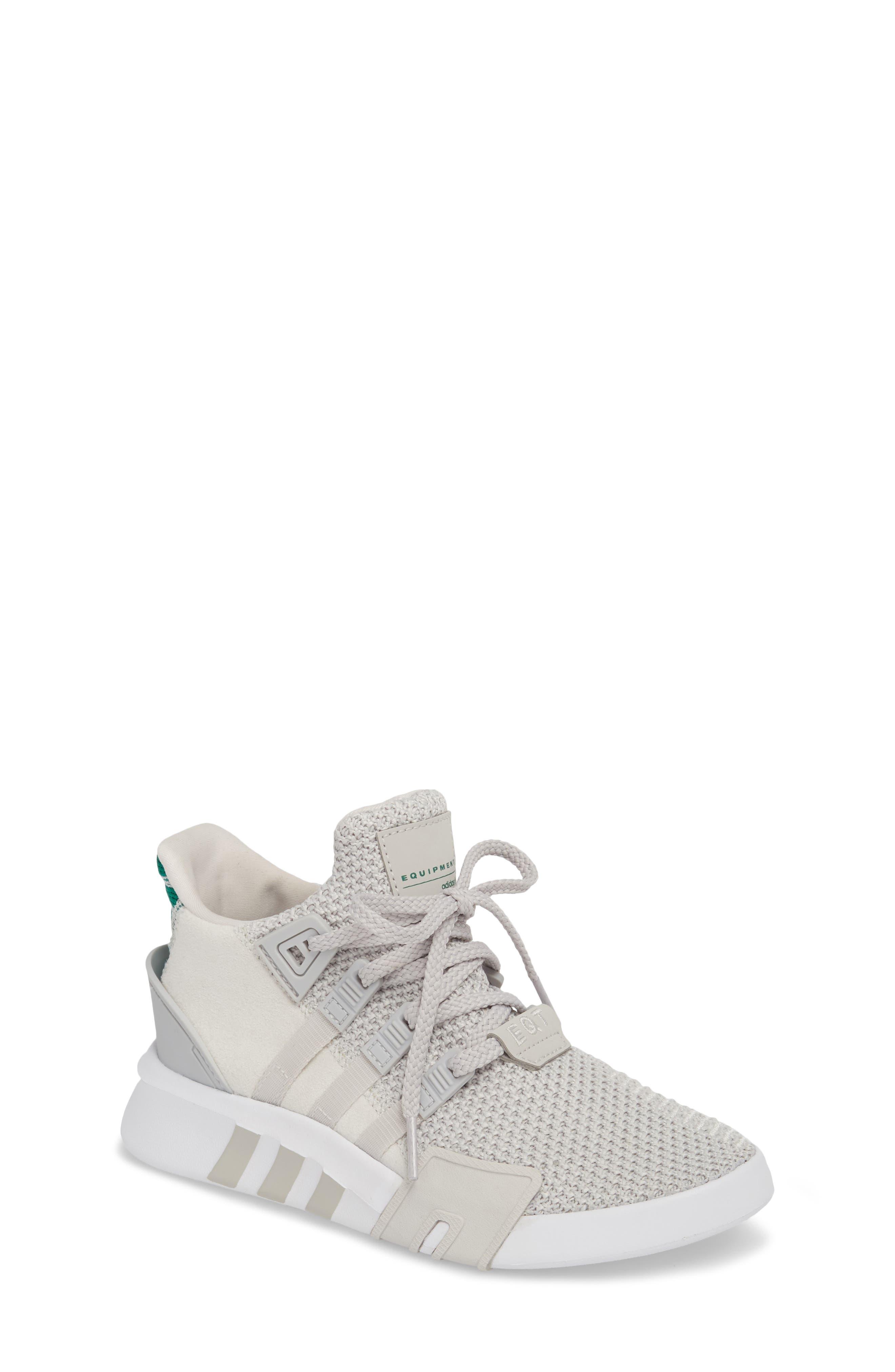 EQT Basketball ADV I Sneaker,                         Main,                         color, Grey / Grey / Green