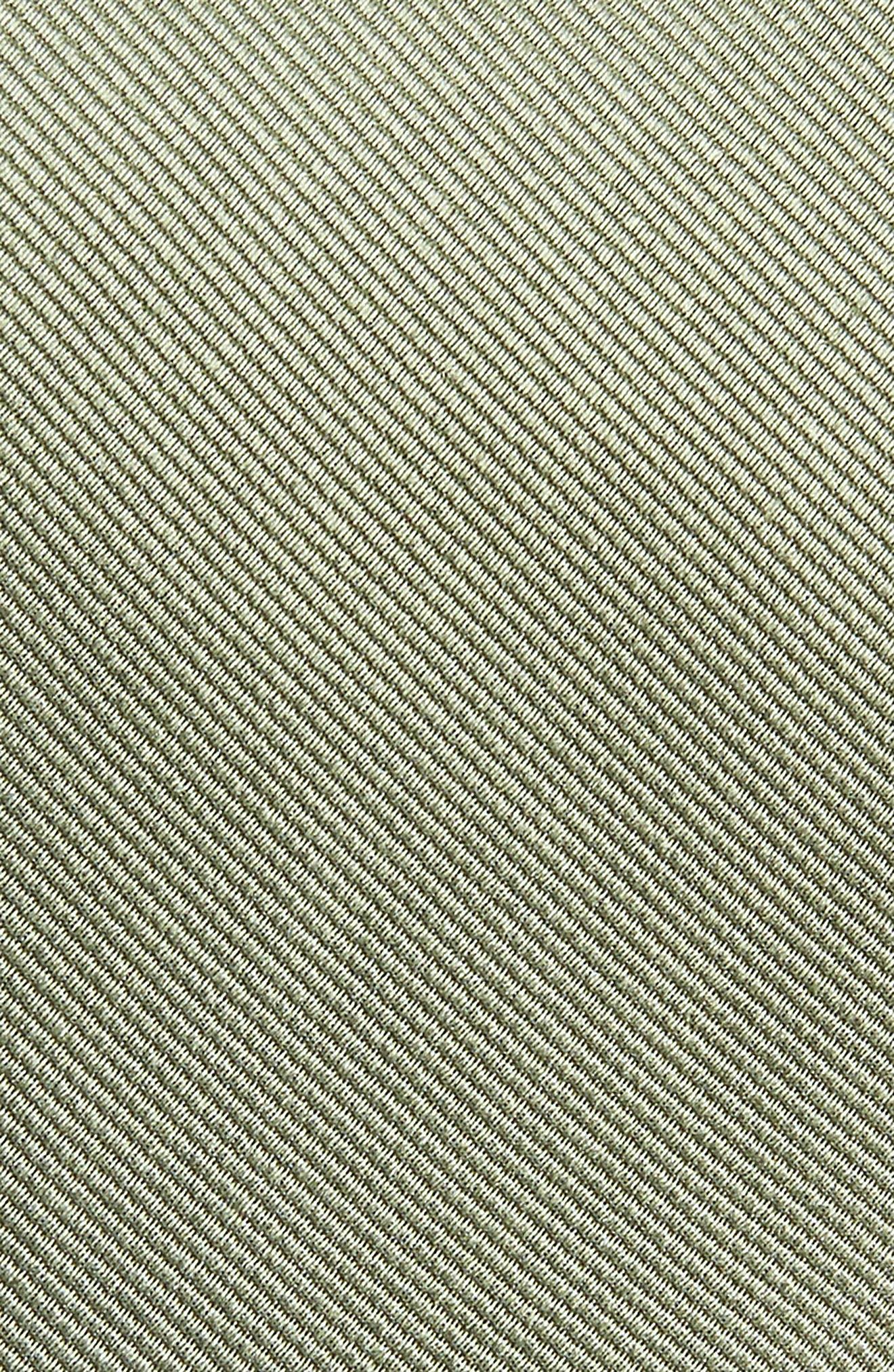 Alternate Image 2  - The Tie Bar Solid Silk Tie (X-Long)