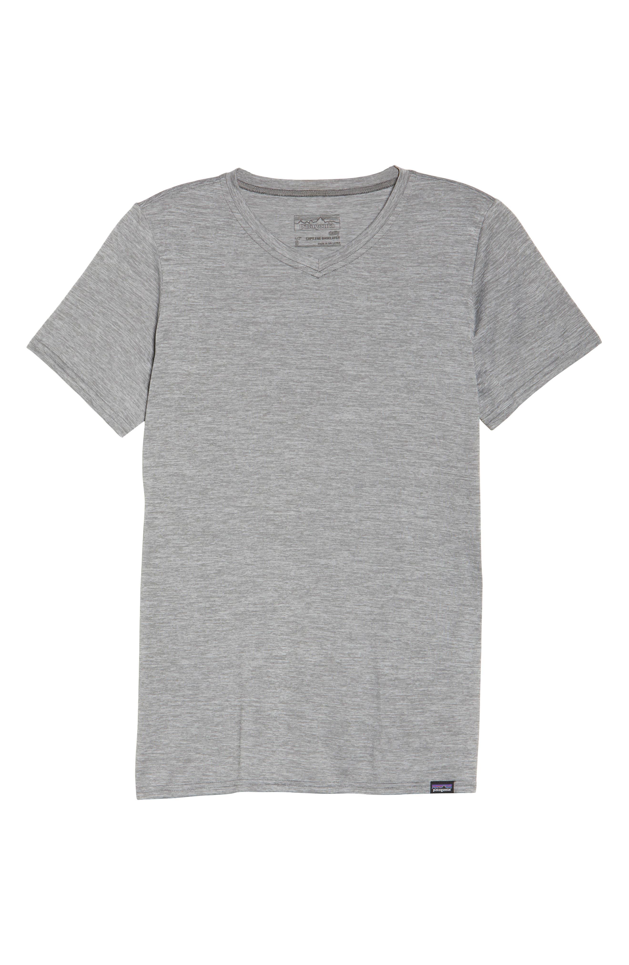 Capilene<sup>®</sup> Dailty T-Shirt,                             Alternate thumbnail 7, color,                             Feather Grey