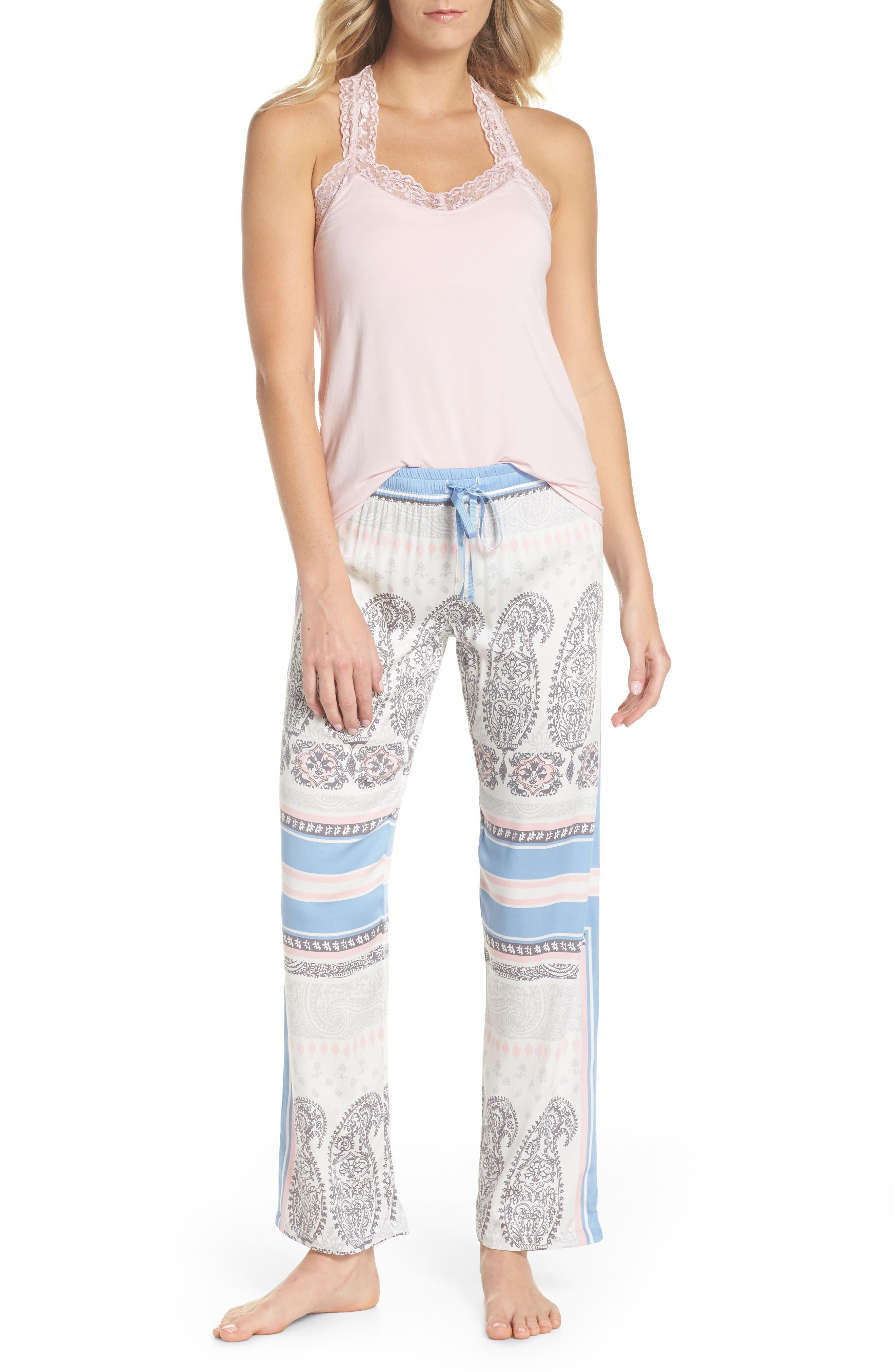 Pajama Pants,                             Alternate thumbnail 5, color,                             Natural