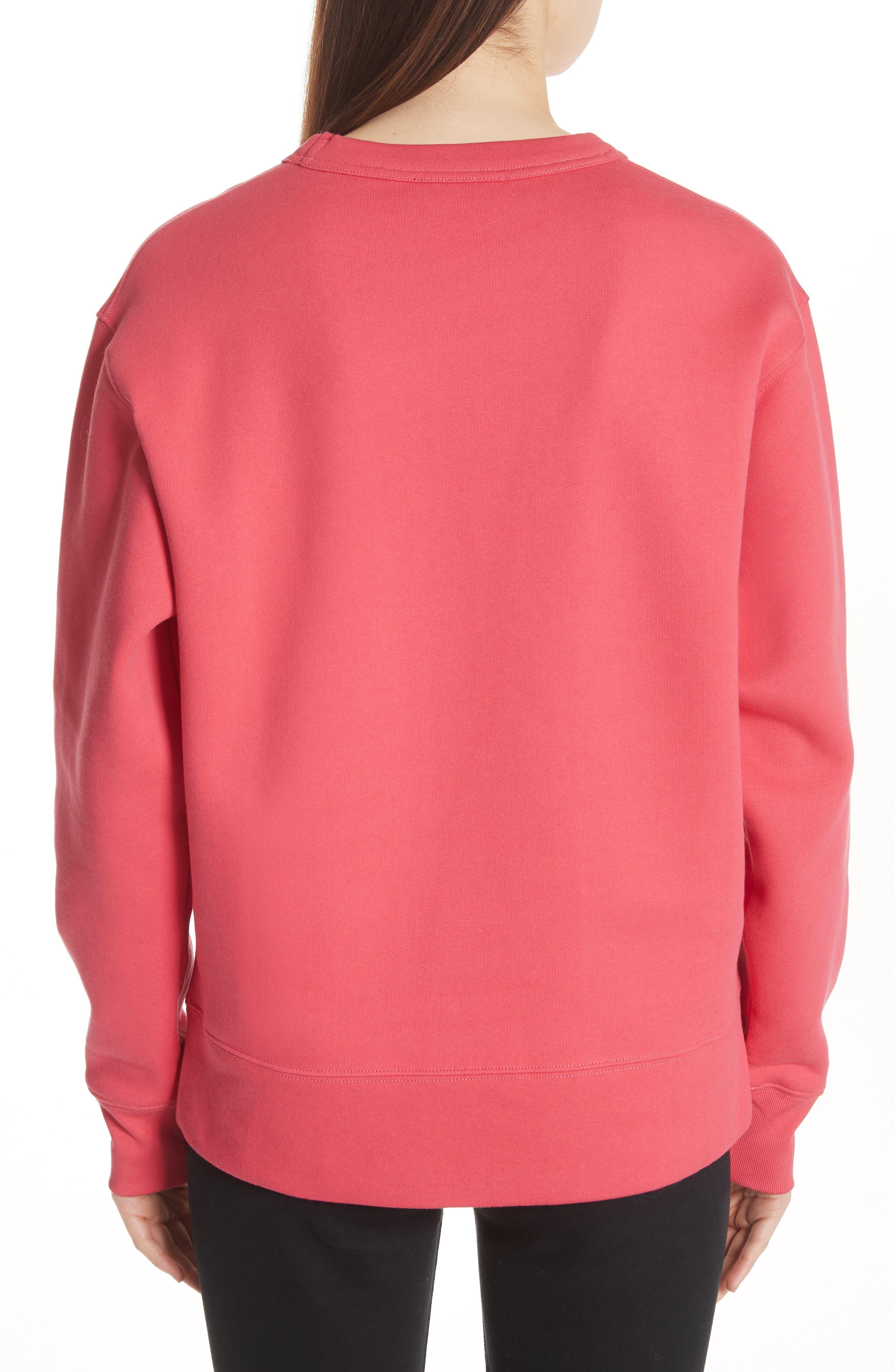 Fairview Crewneck Sweatshirt,                             Alternate thumbnail 2, color,                             Neon Pink
