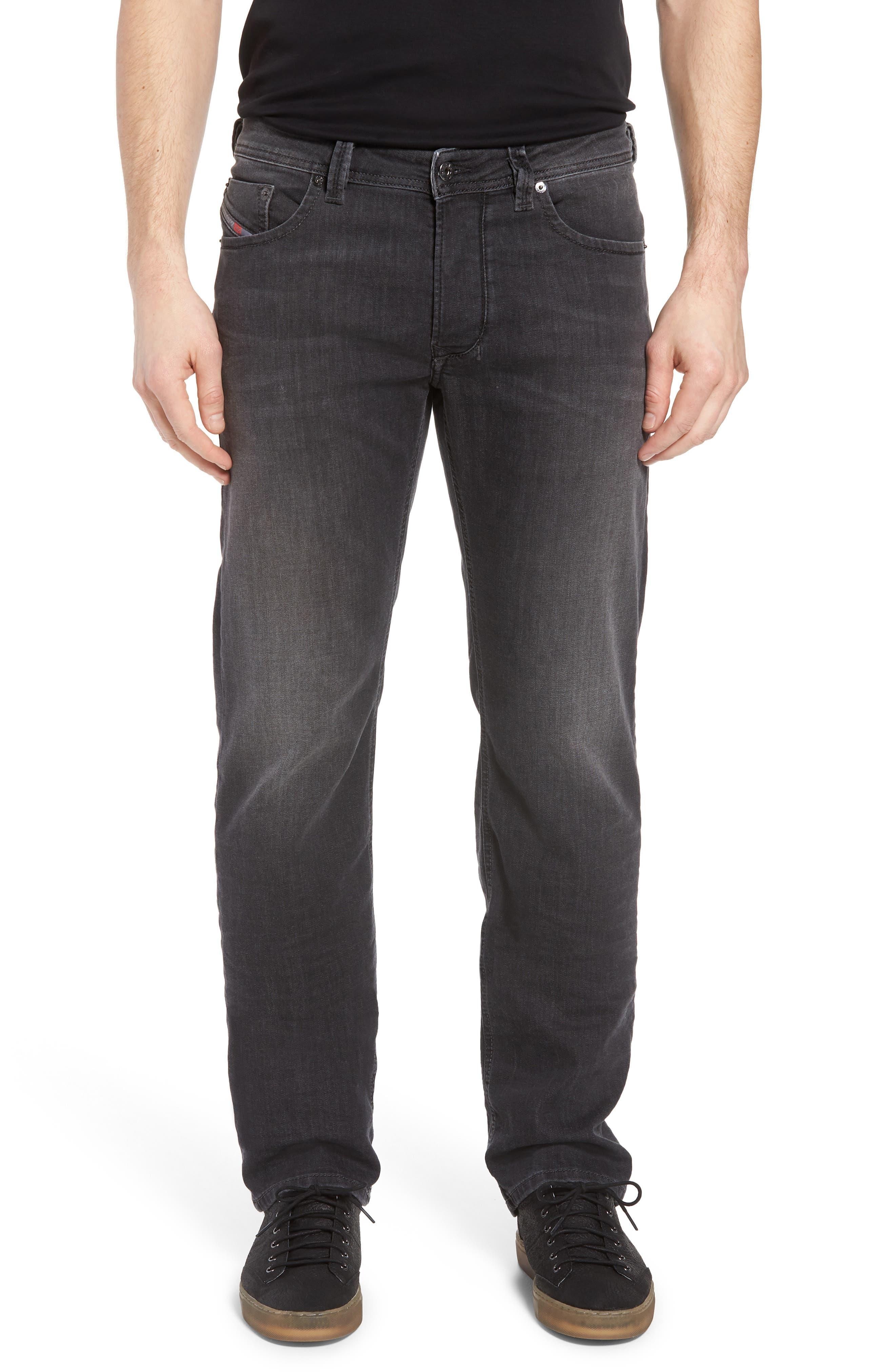 Larkee Relaxed Fit Jeans,                             Main thumbnail 1, color,                             Black/Denim