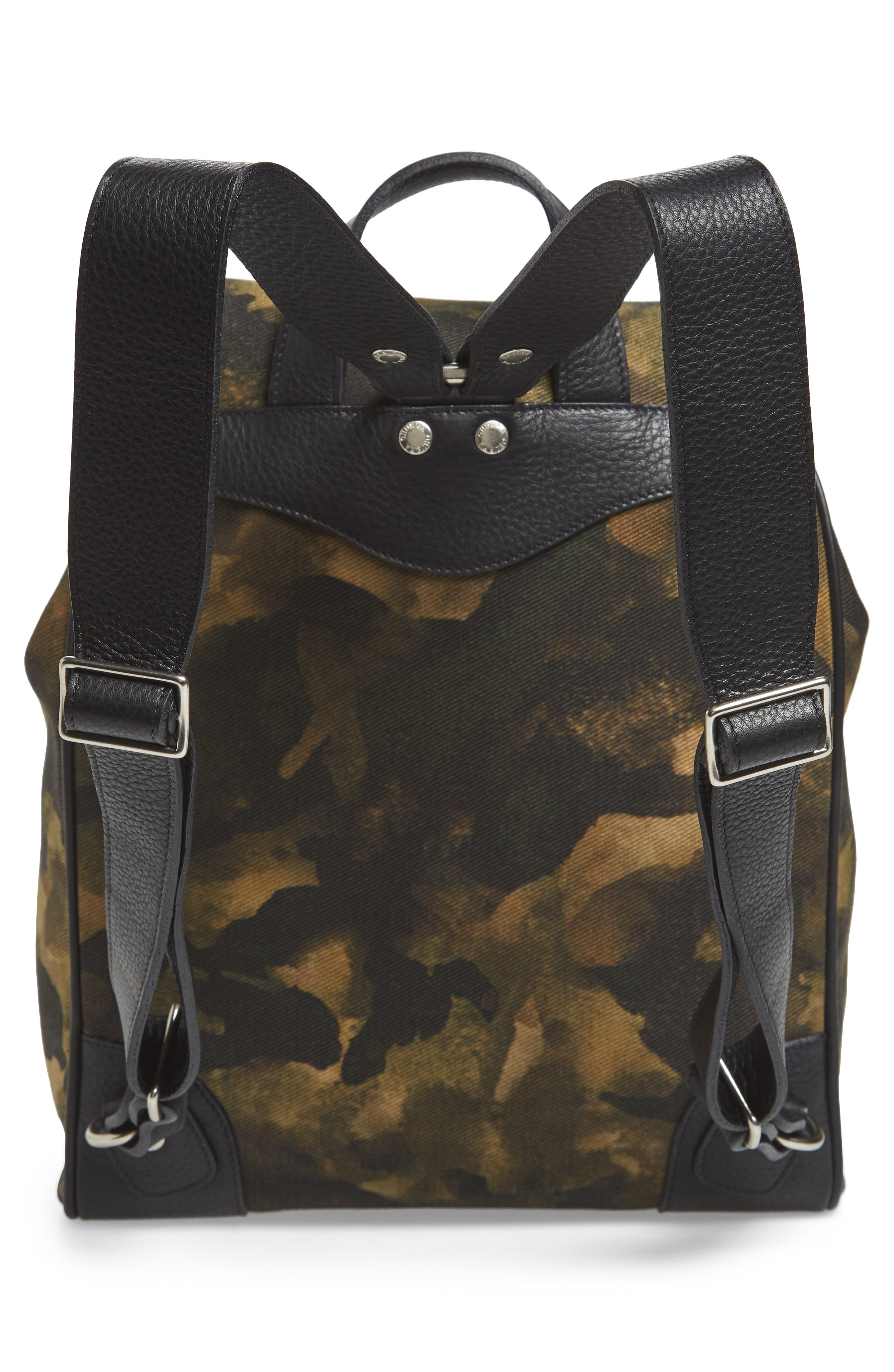 Blazer Canvas Backpack,                             Alternate thumbnail 3, color,                             Camo Solid