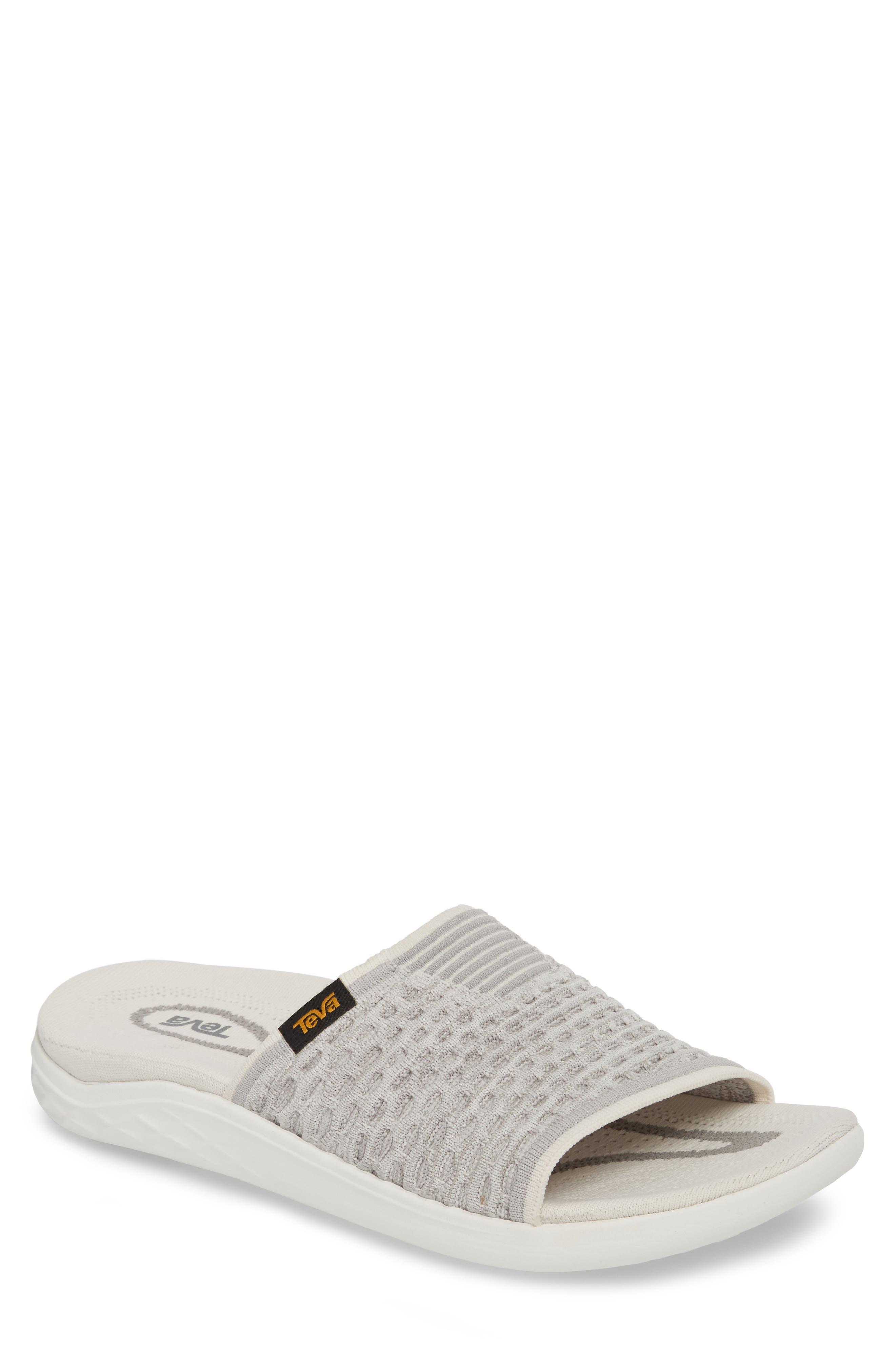 Terra-Float 2 Knit Slide Sandal,                         Main,                         color, Bright White