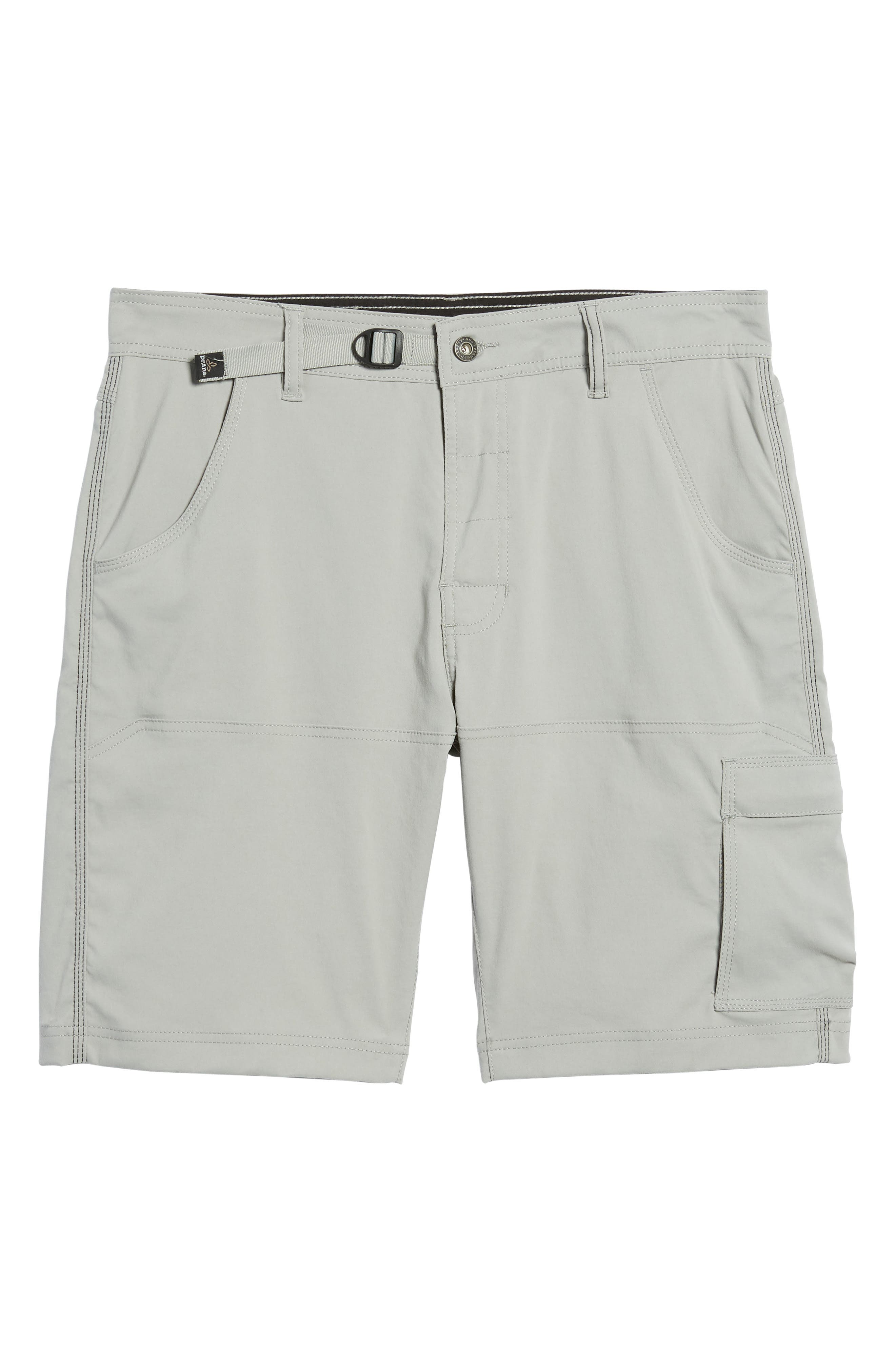 Zion Stretch Shorts,                             Alternate thumbnail 6, color,                             Grey