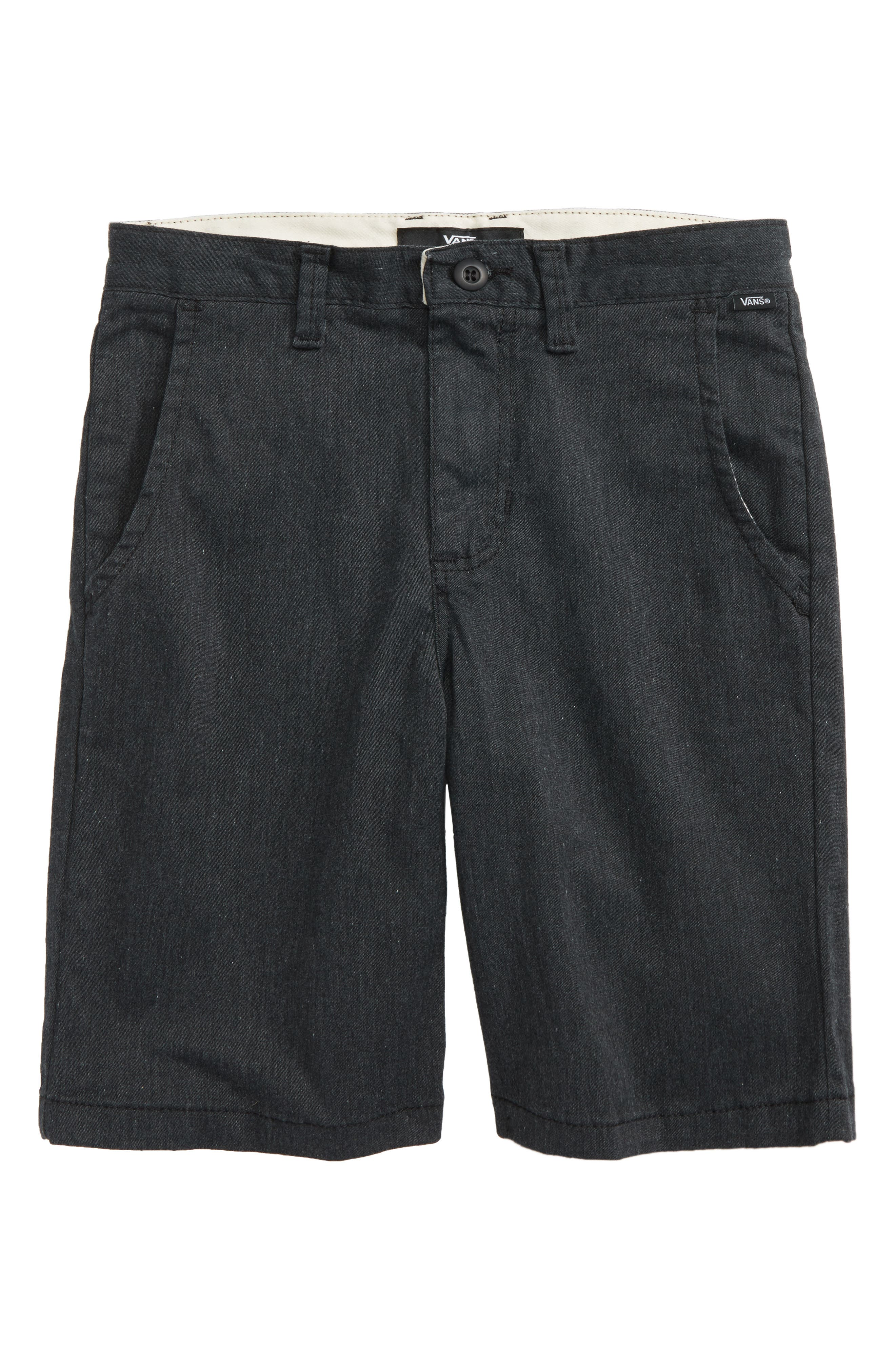 Authentic Stretch Shorts,                         Main,                         color, Black Heather