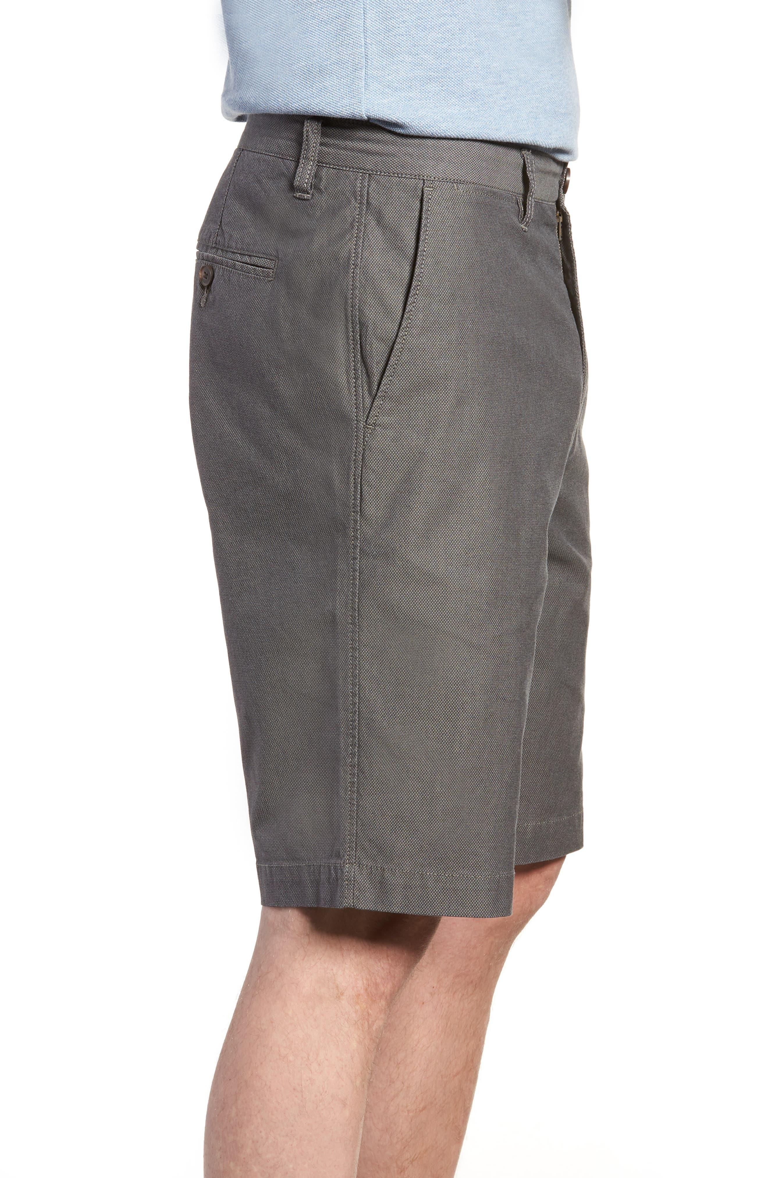 Army Bay Regular Fit Shorts,                             Alternate thumbnail 3, color,                             Granite
