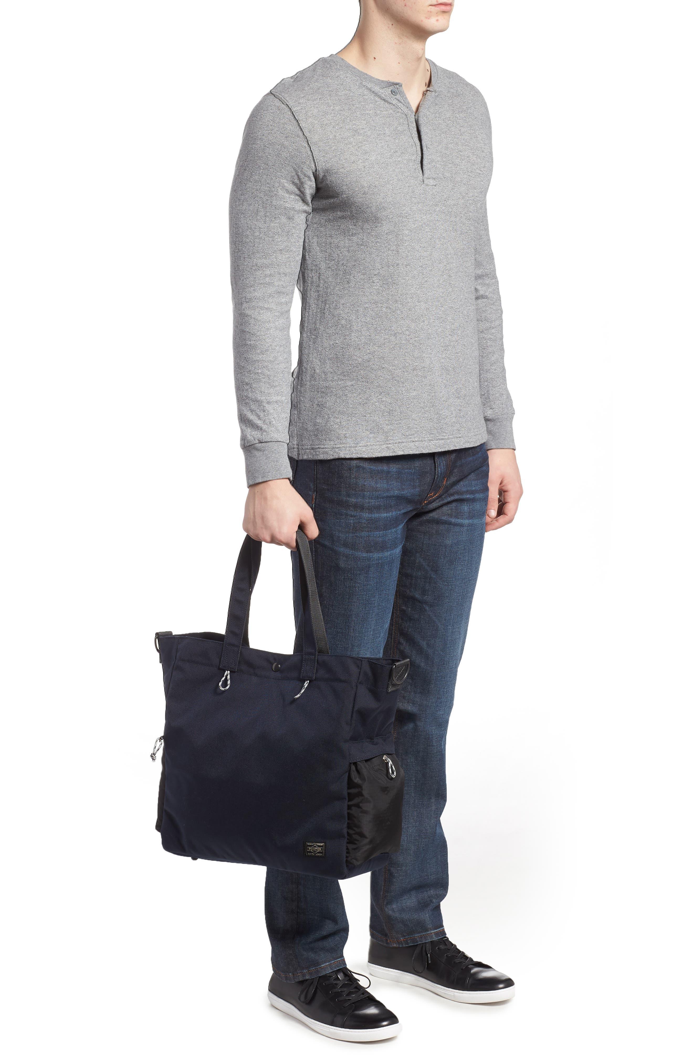 Porter-Yoshida & Co. Hype Tote Bag,                             Alternate thumbnail 2, color,                             Navy/ Black