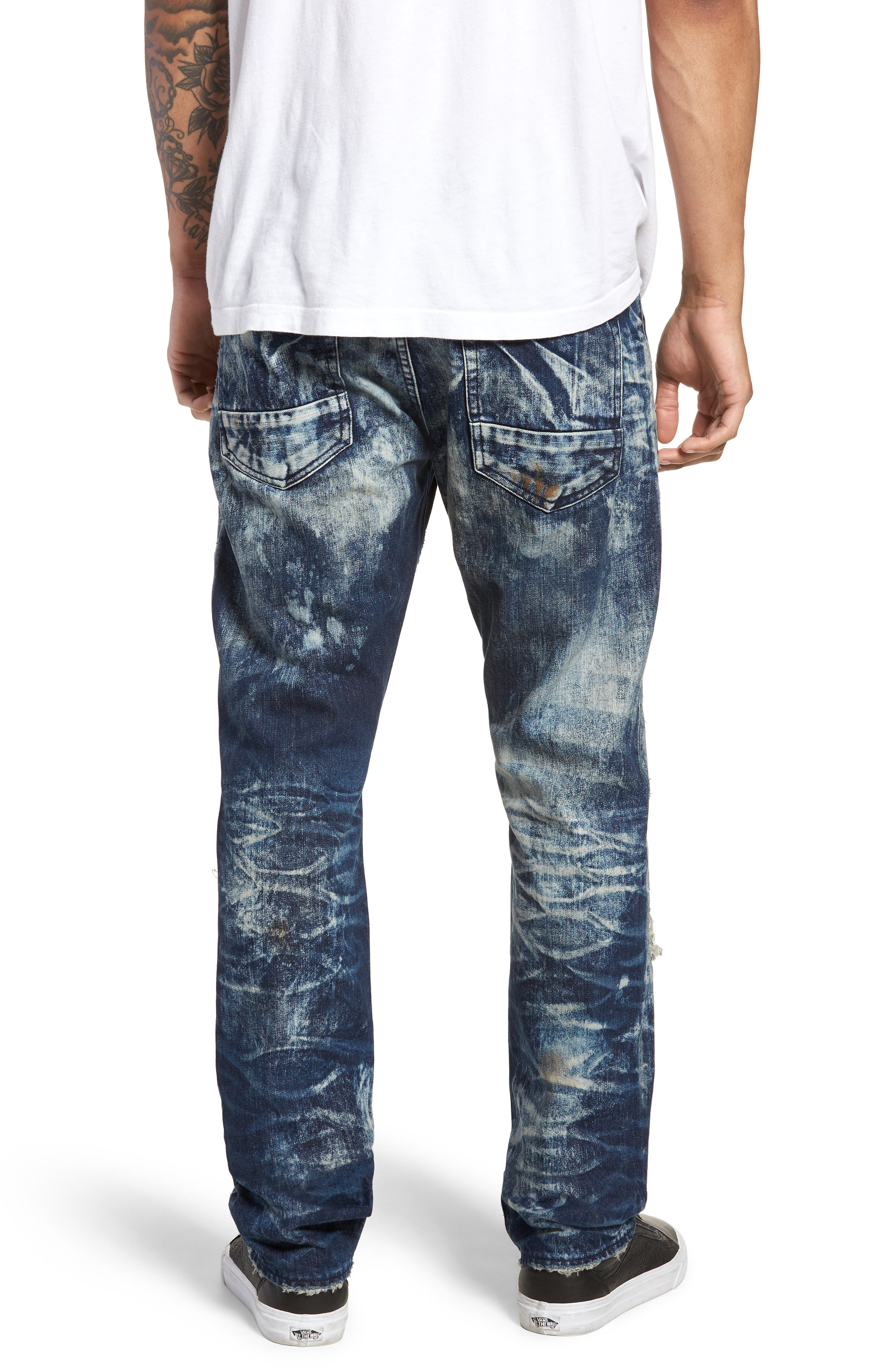 Le Sabre Slim Fit Jeans,                             Alternate thumbnail 2, color,                             Consolation